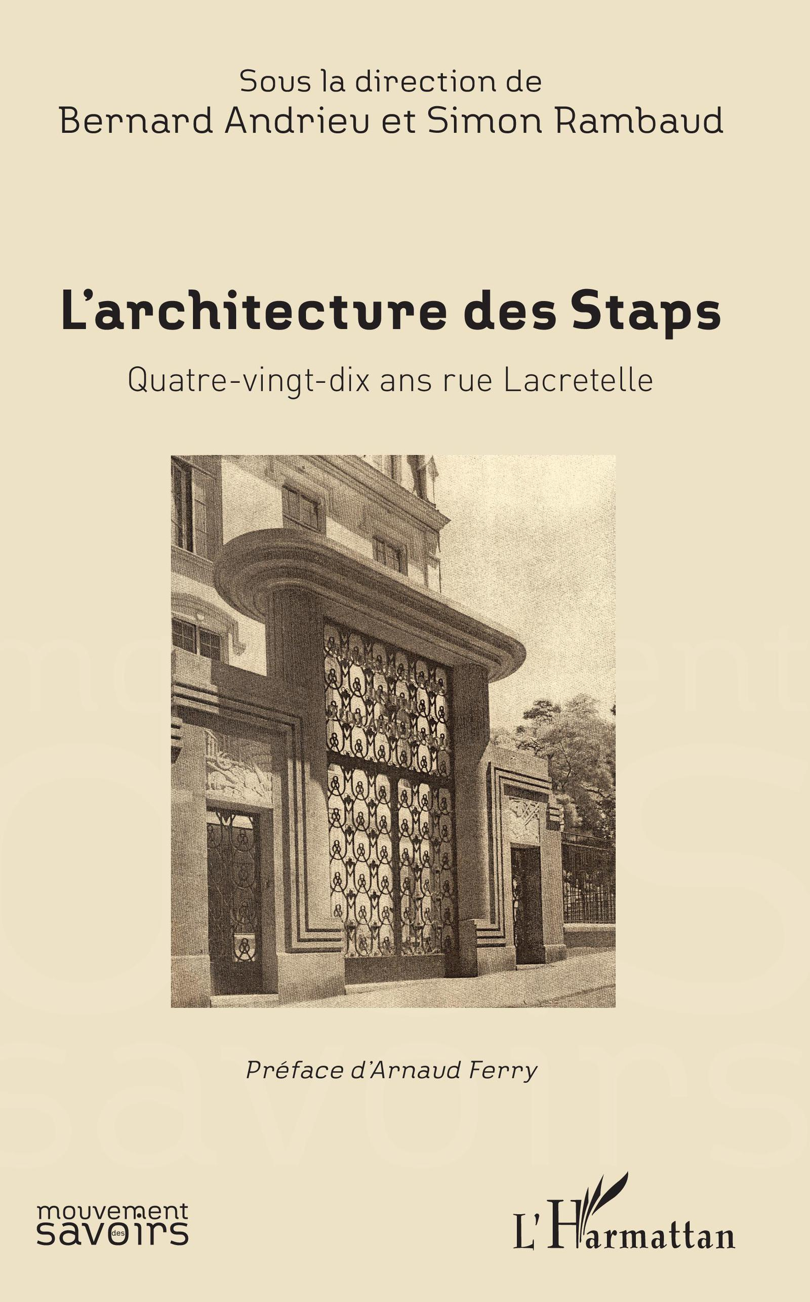 L'Architecture des Staps