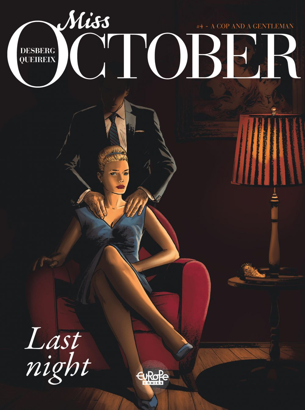 Miss October 4. A Cop and a Gentleman