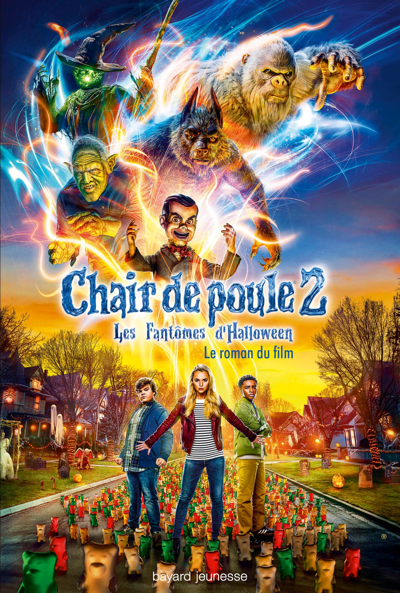Chair de Poule, Le roman du film 2