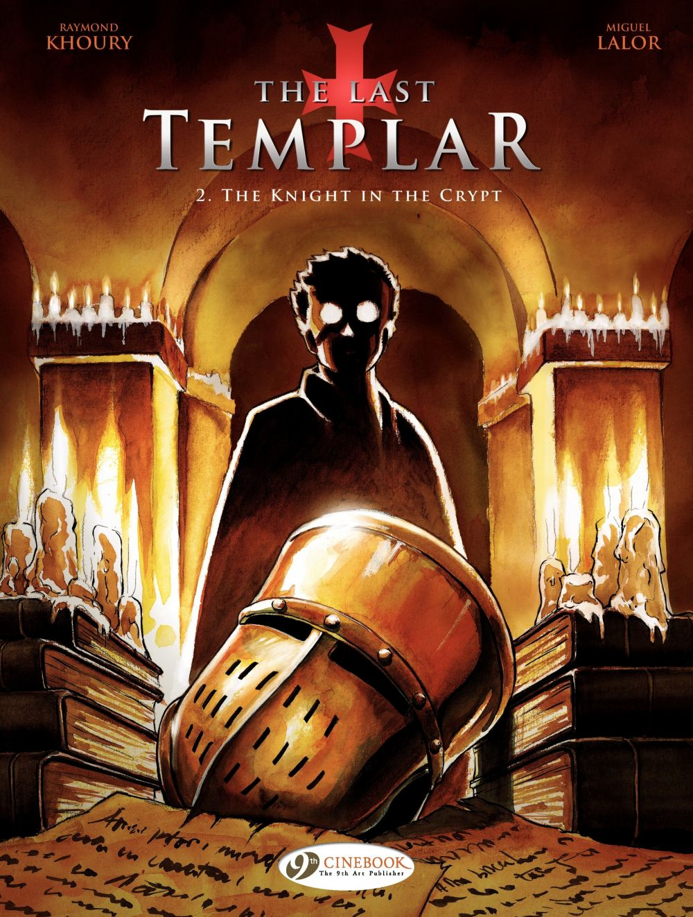 The Last Templar - Volume 2 - The Knight in the Crypt