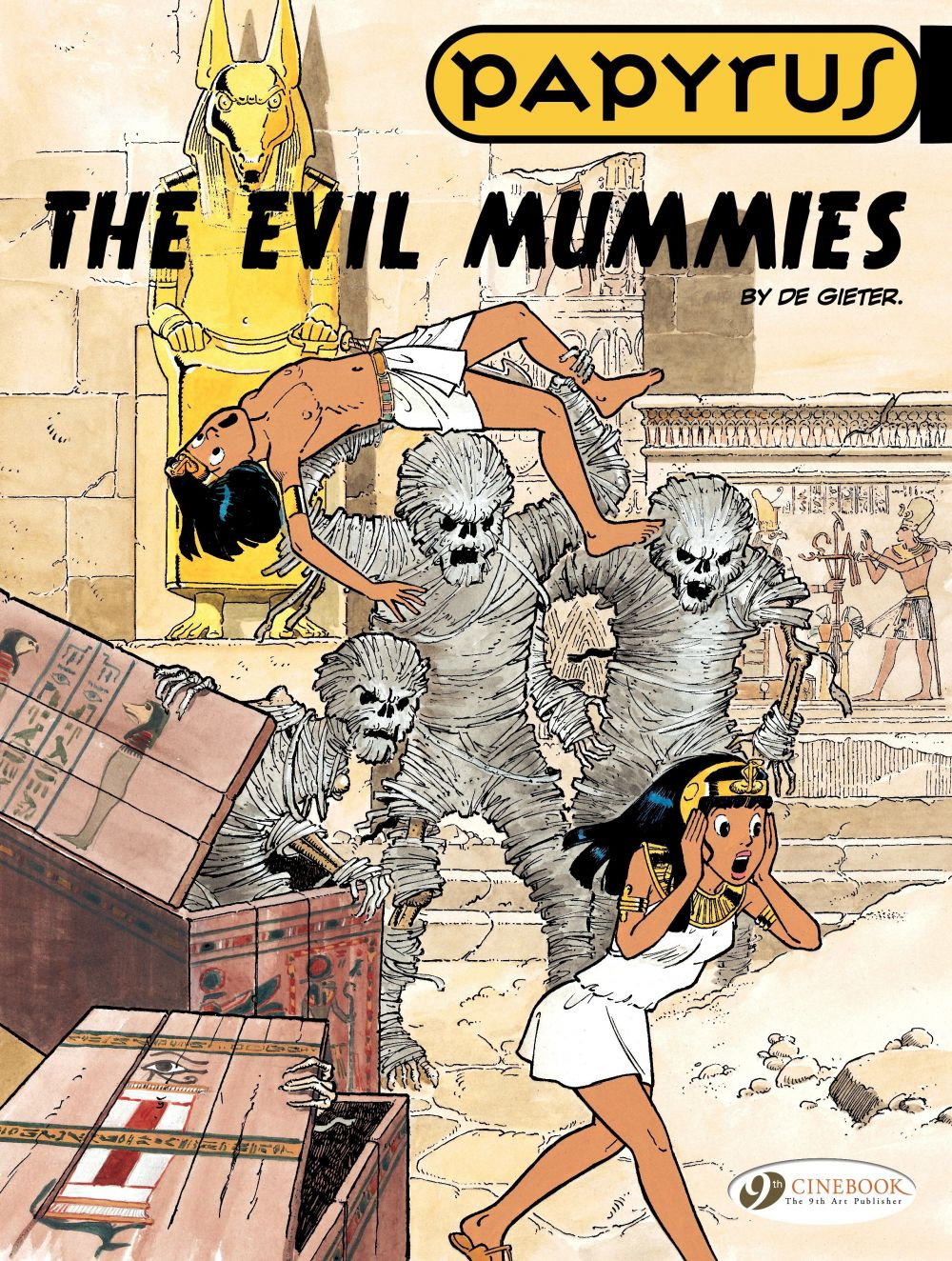 Papyrus - Volume 4 - The Evil Mummies