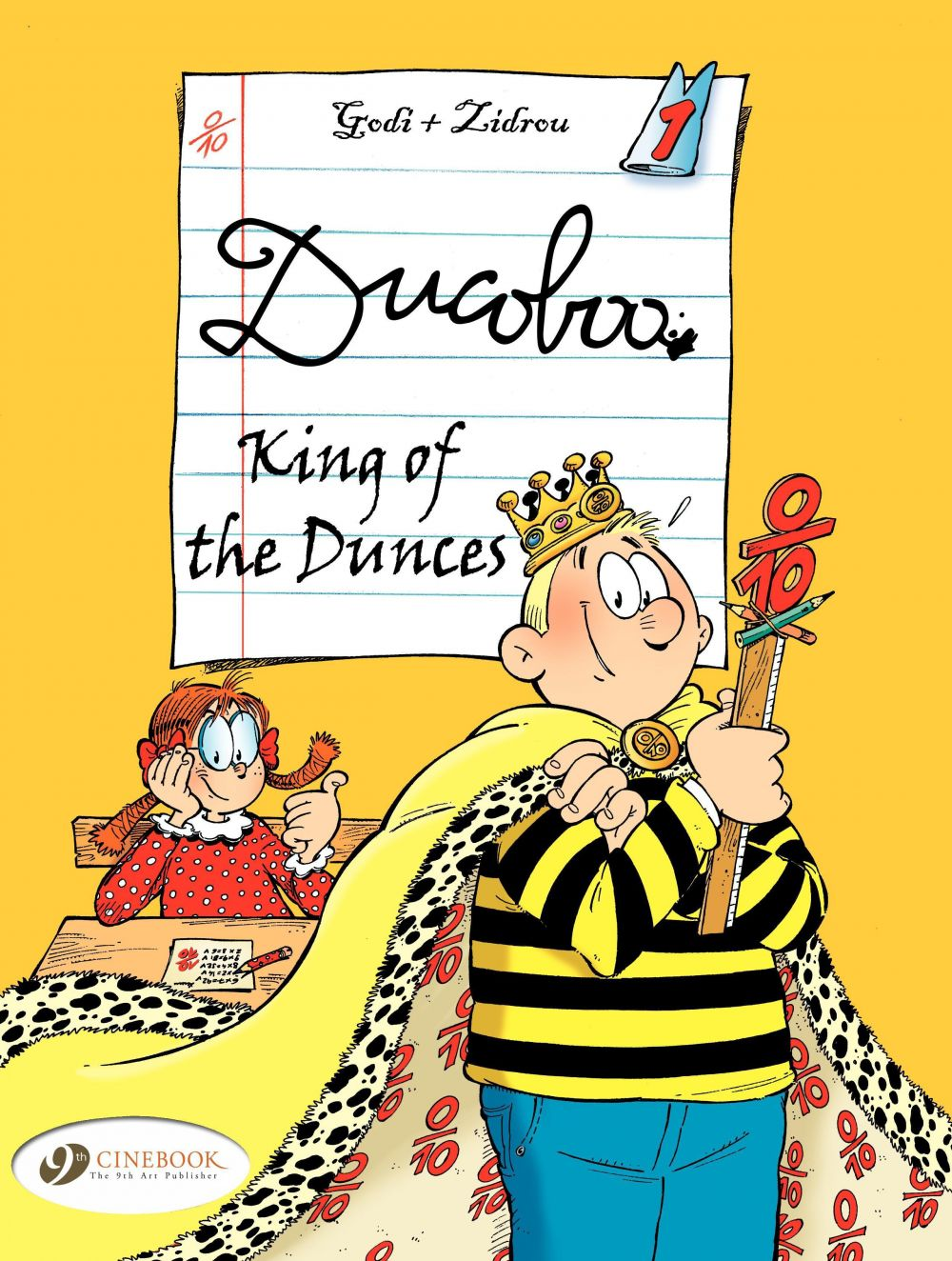 Ducoboo - Volume 1 - King of the Dunces
