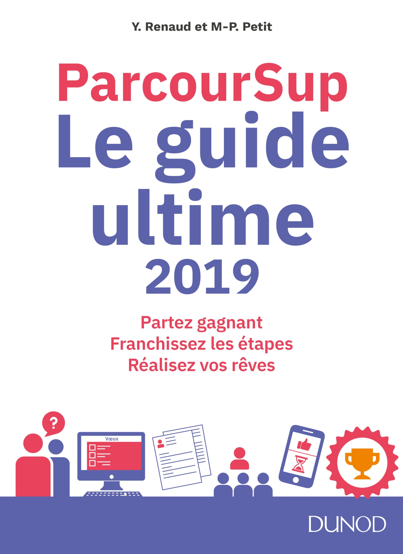 Cover image (Parcoursup Le Guide ultime 2019)