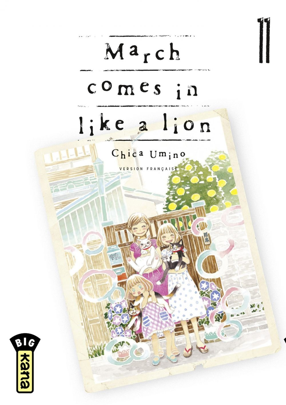 March comes in like a lion - tome 11