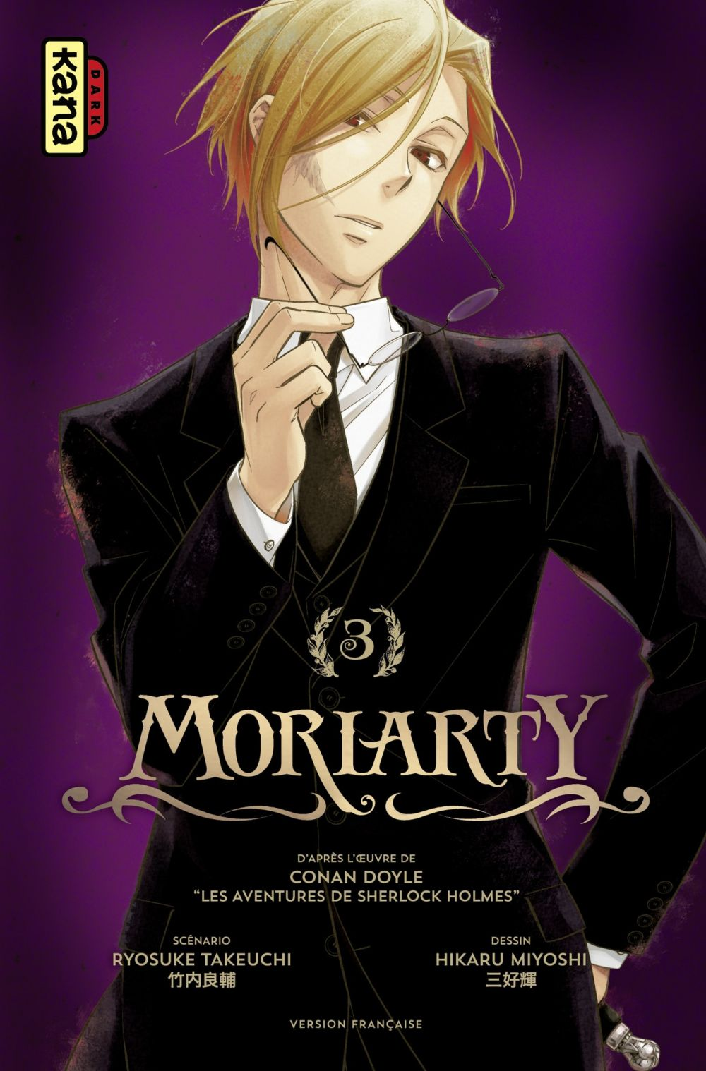 Moriarty - tome 3