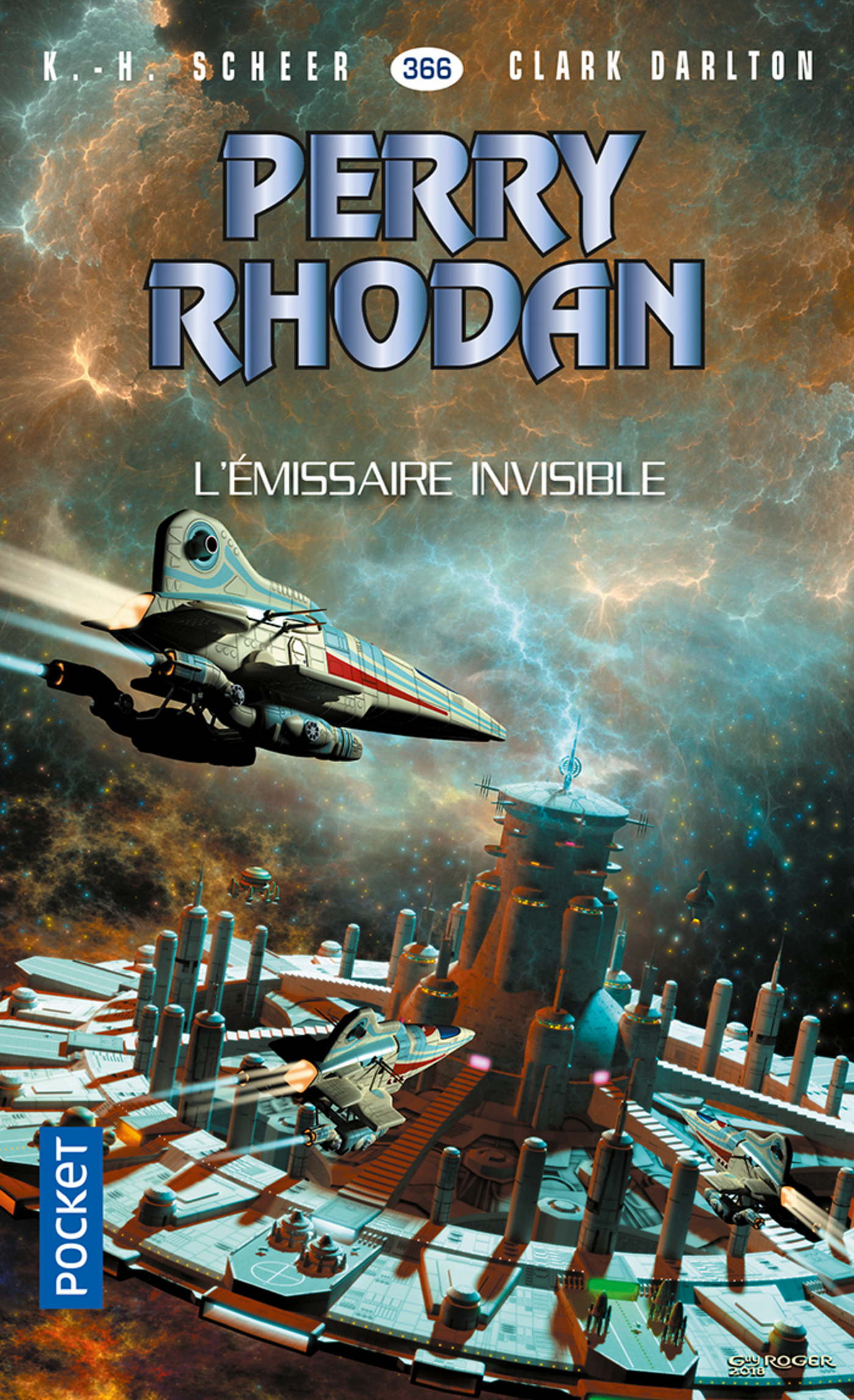Perry Rhodan n°366 : L'émissaire invisible