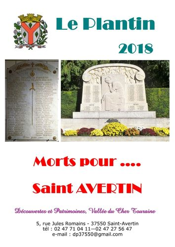 Morts pour ..... Saint - Avertin