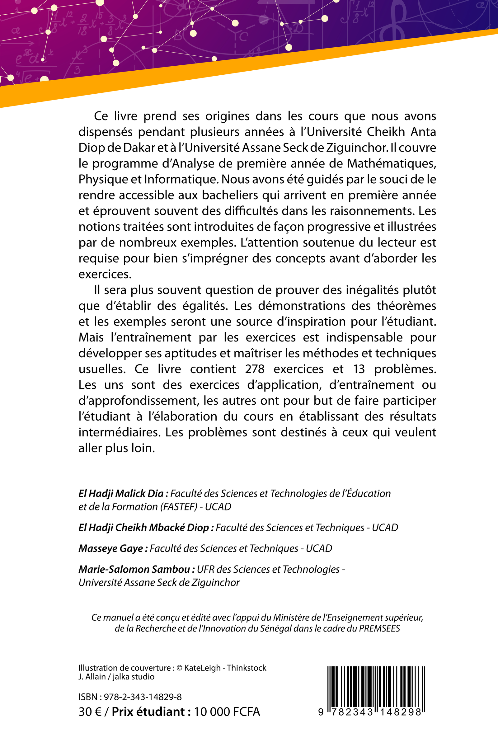 Cours et exercices d'analyse L1MPI