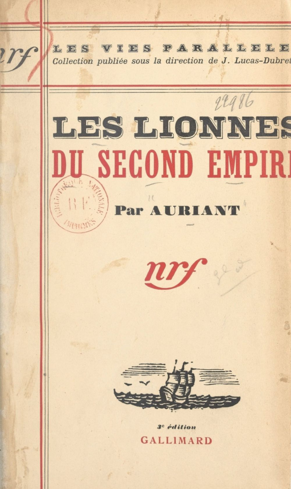 Les lionnes du Second Empire