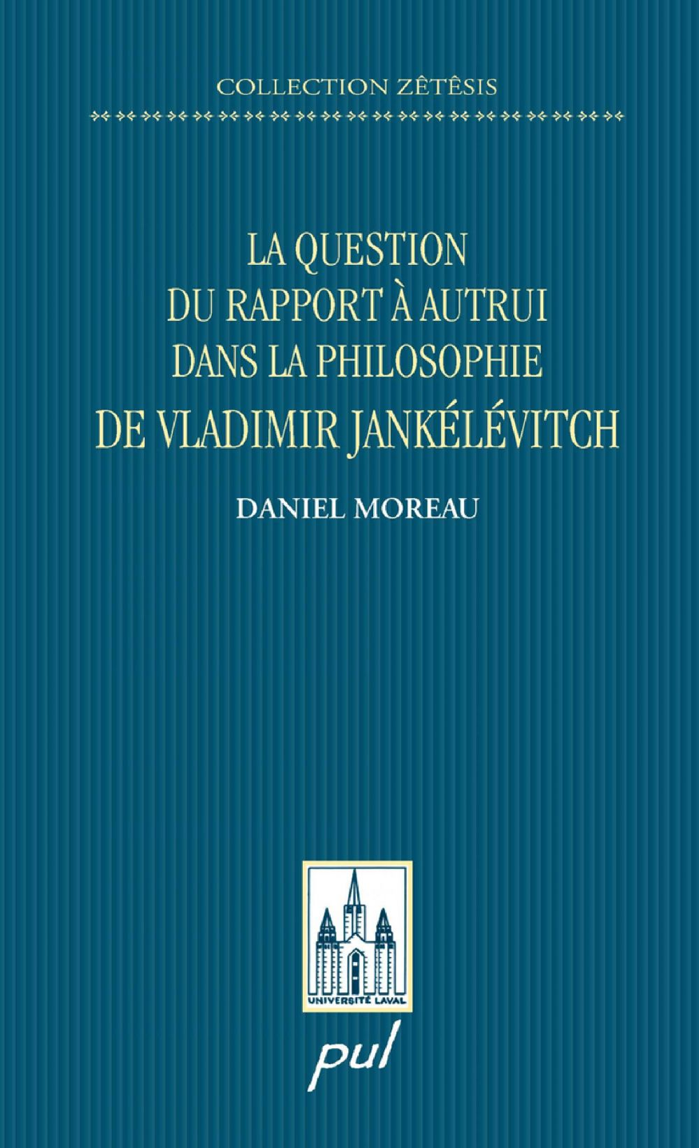 La question du rapport à autrui dans la philosophie...