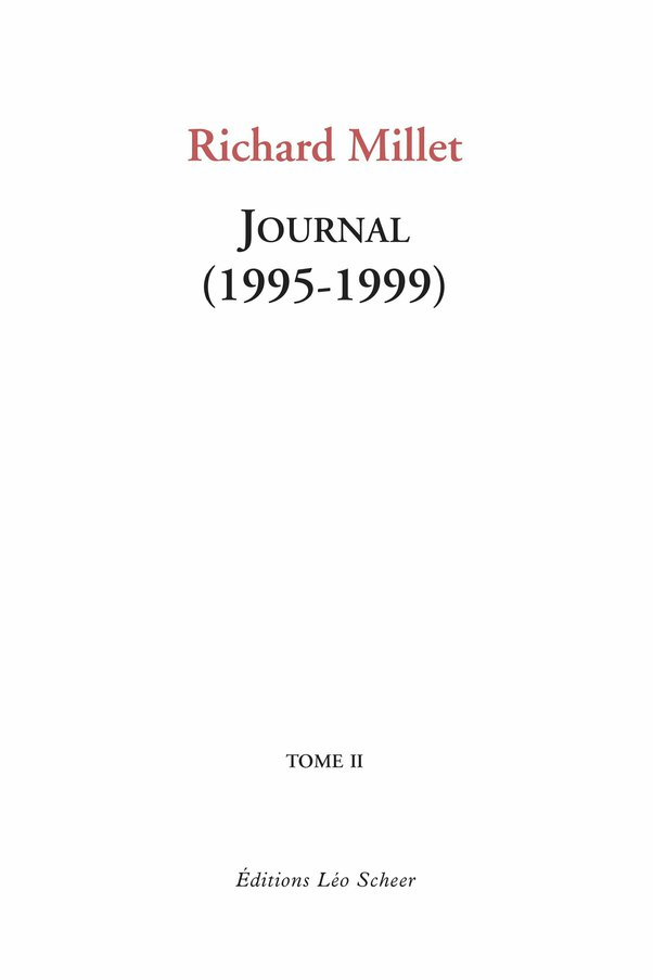 Journal (1995-1999) Tome II