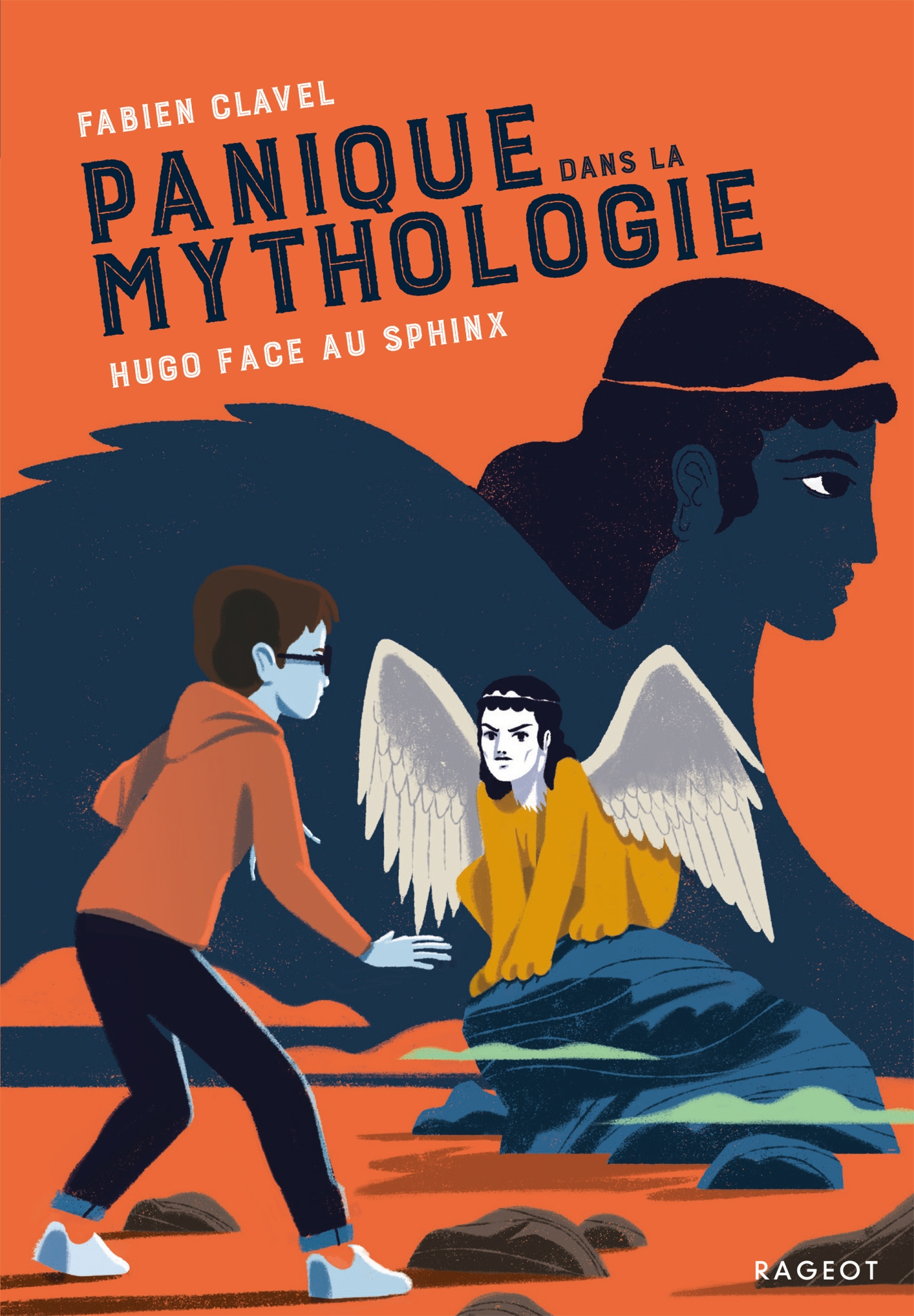 Cover image (Panique dans la mythologie - Hugo face au Sphinx)