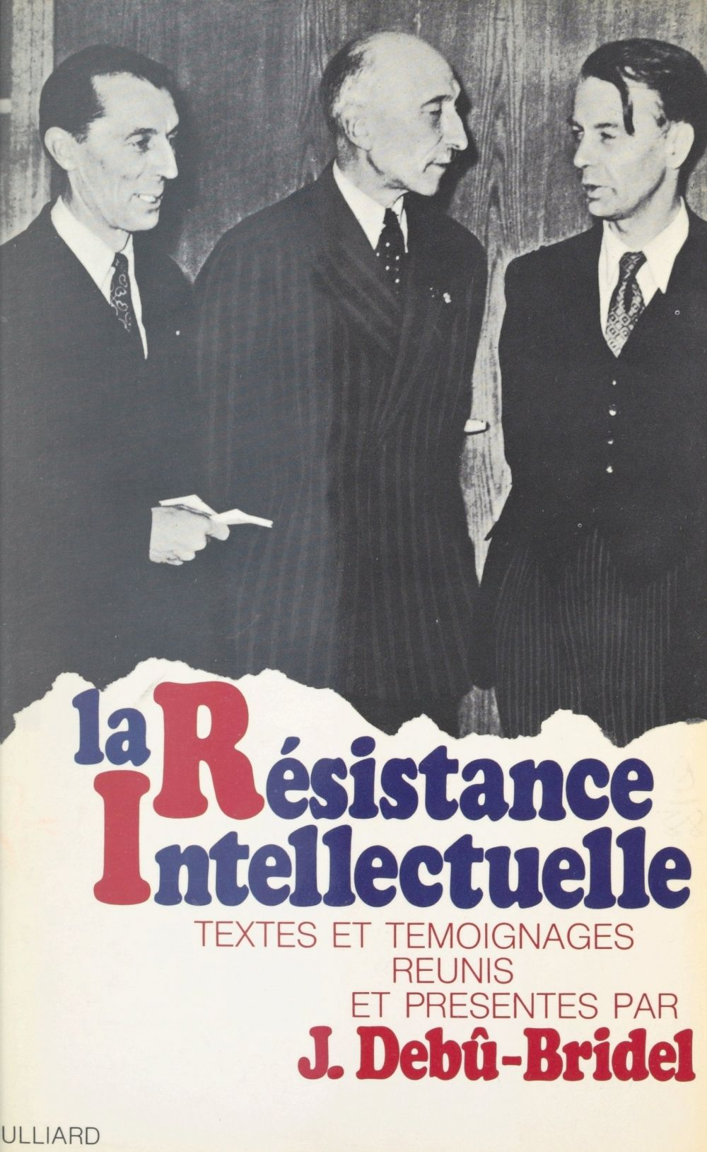 La Résistance intellectuelle
