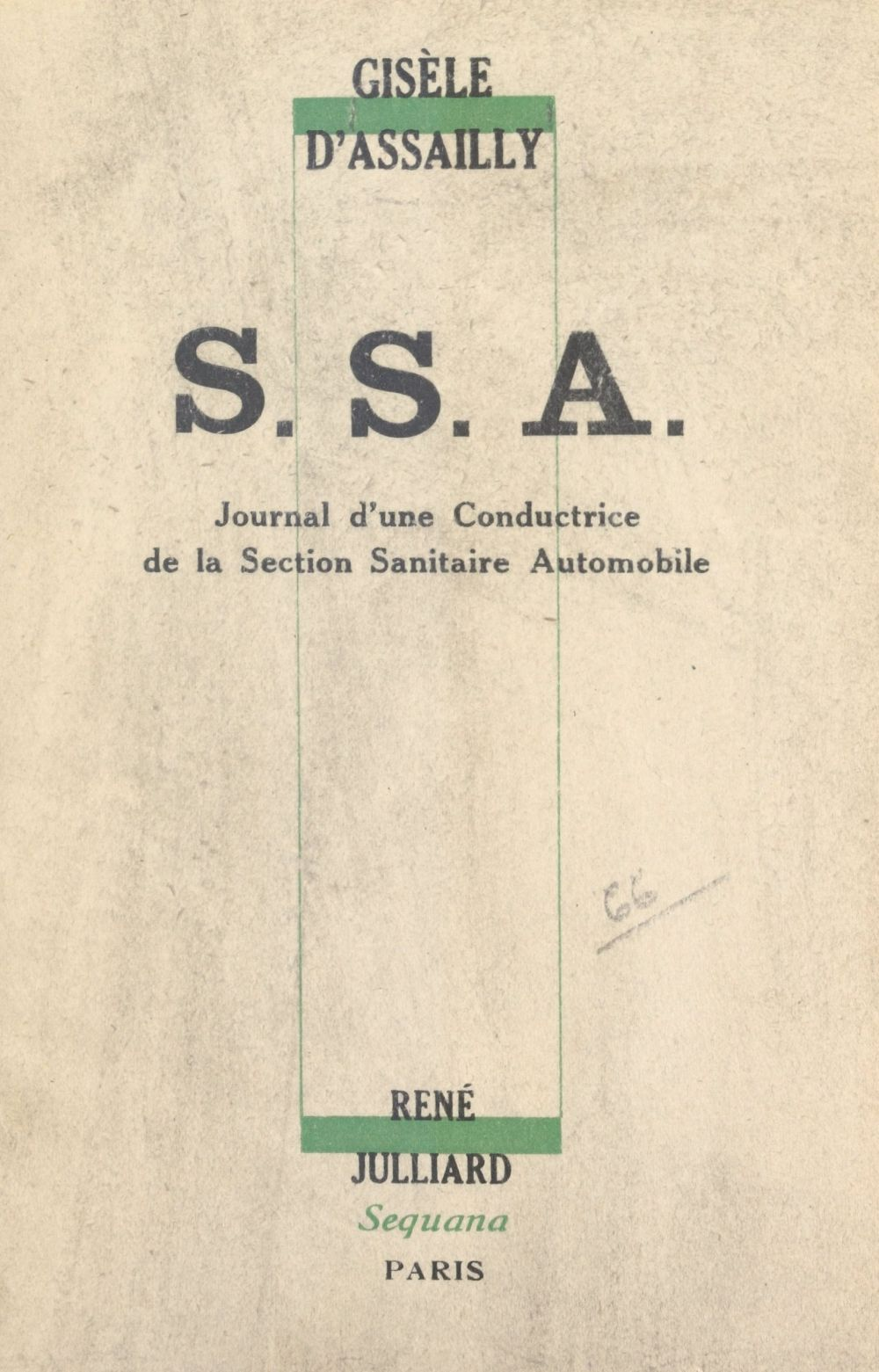 S. S. A.