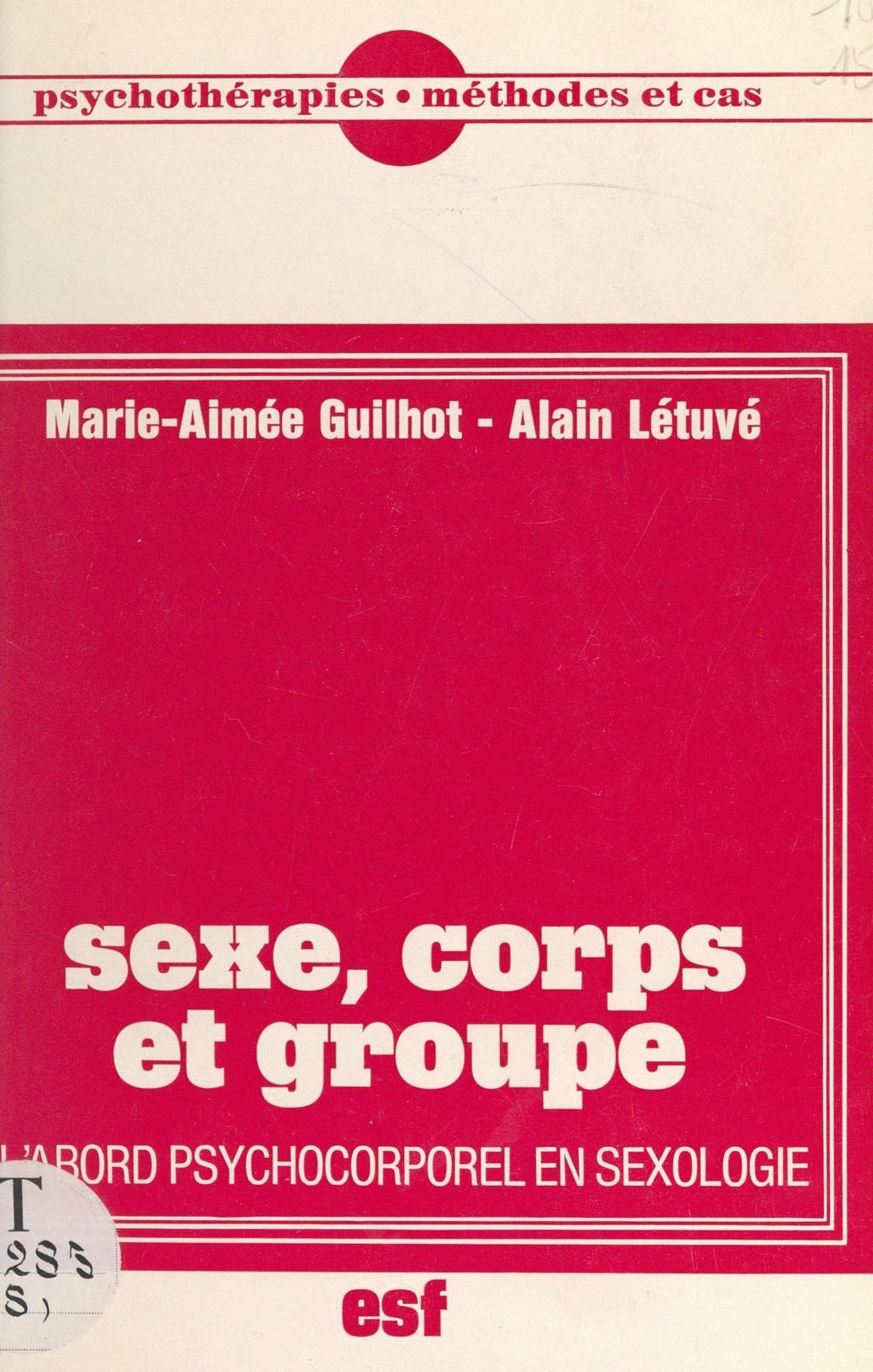 Sexe, corps et groupe
