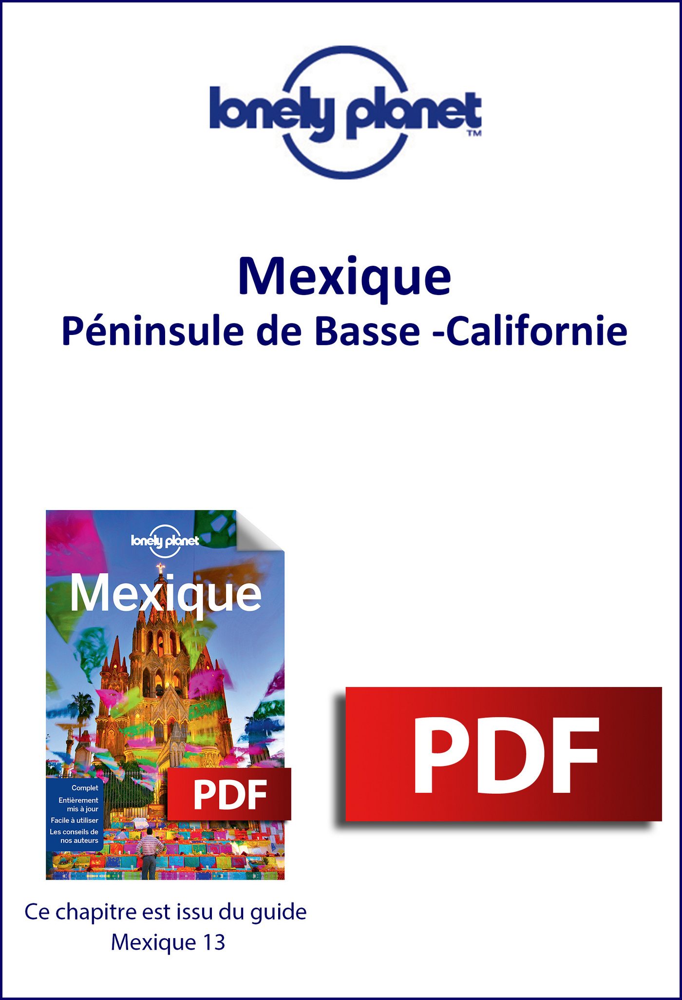 Mexique - Péninsule de Basse-Californie