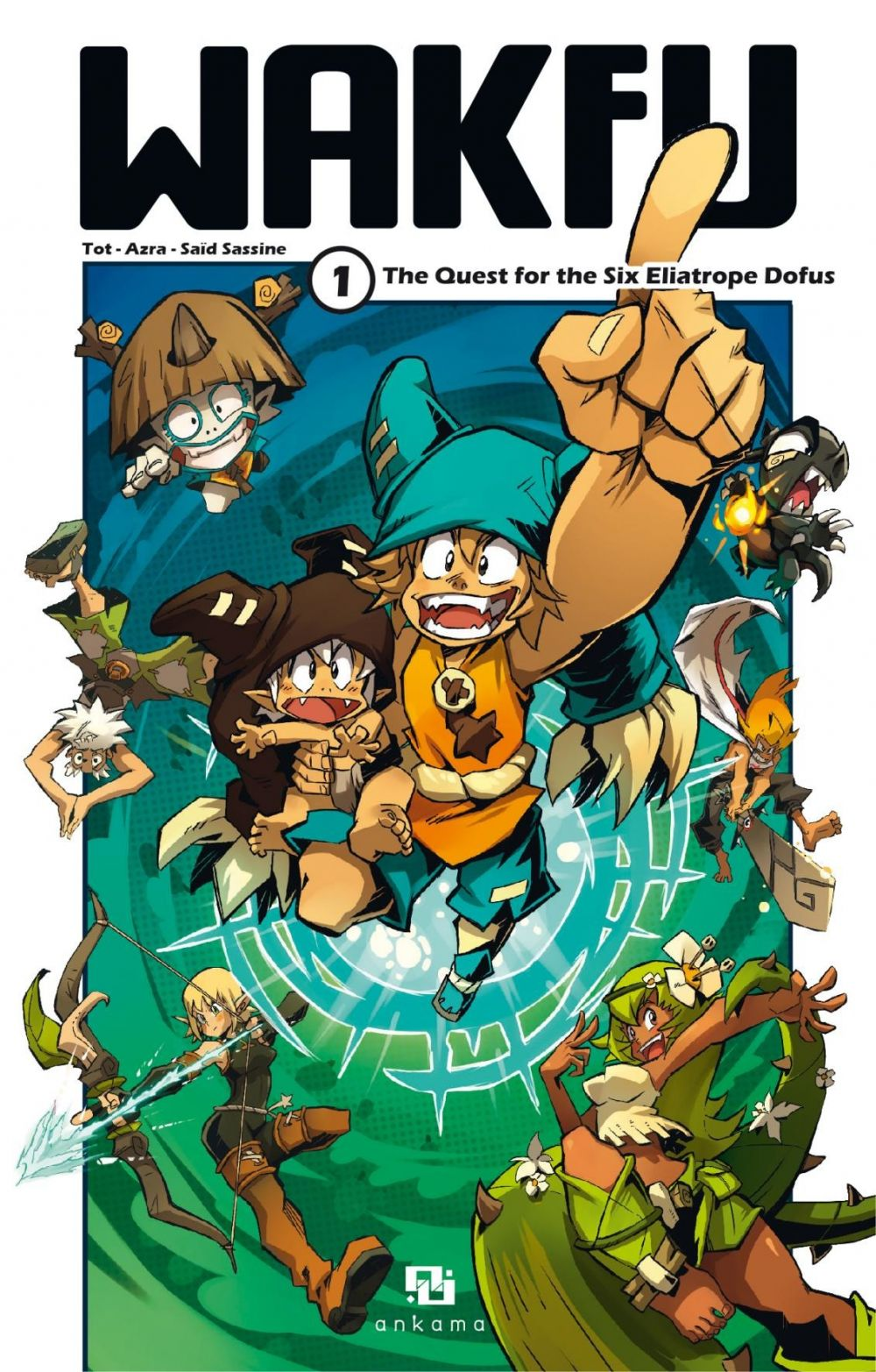 WAKFU MANGA - Tome 1 : The Quest for the Six Eliatrope Dofus