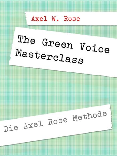 The Green Voice Masterclass