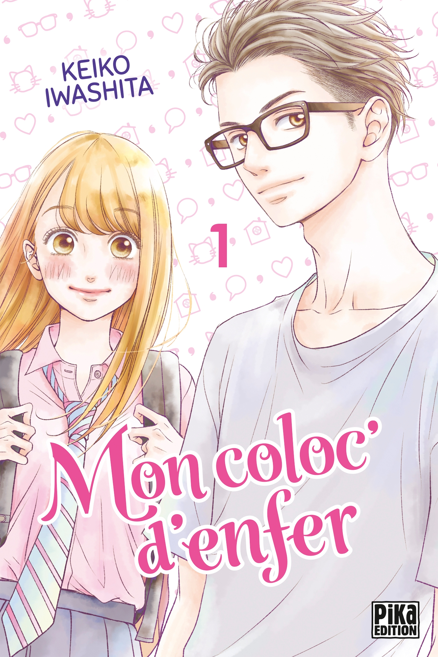 Image de couverture (Mon coloc' d'enfer T01)