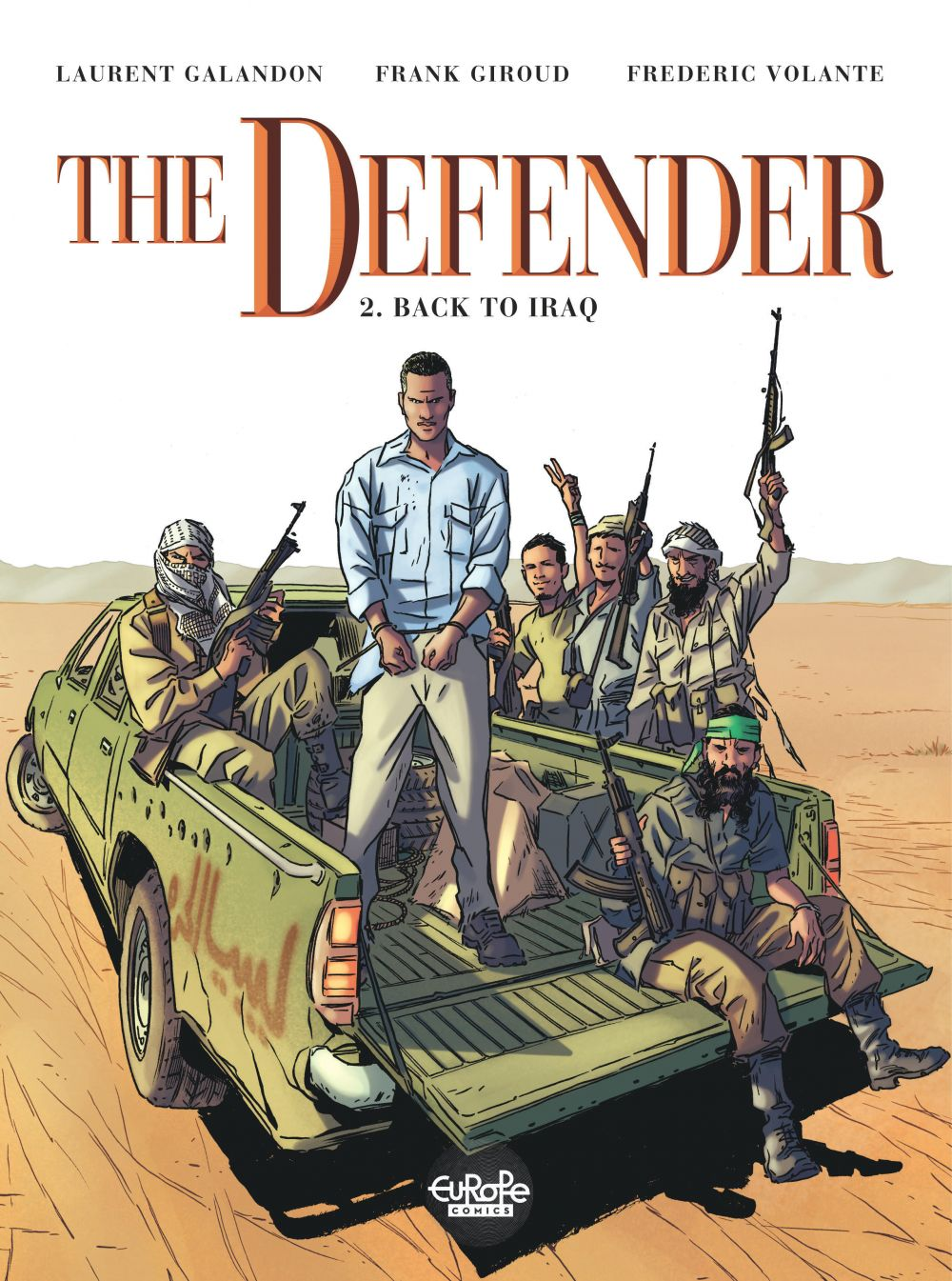 The Defender 2. Back to Iraq