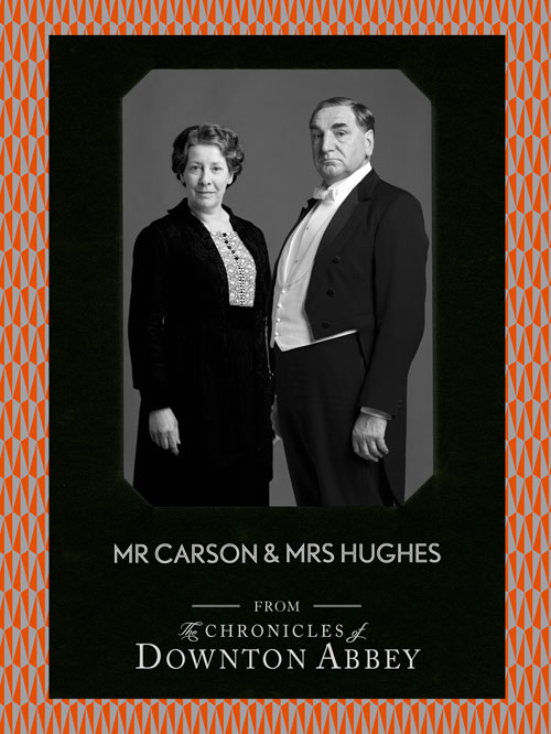 Mr Carson and Mrs Hughes