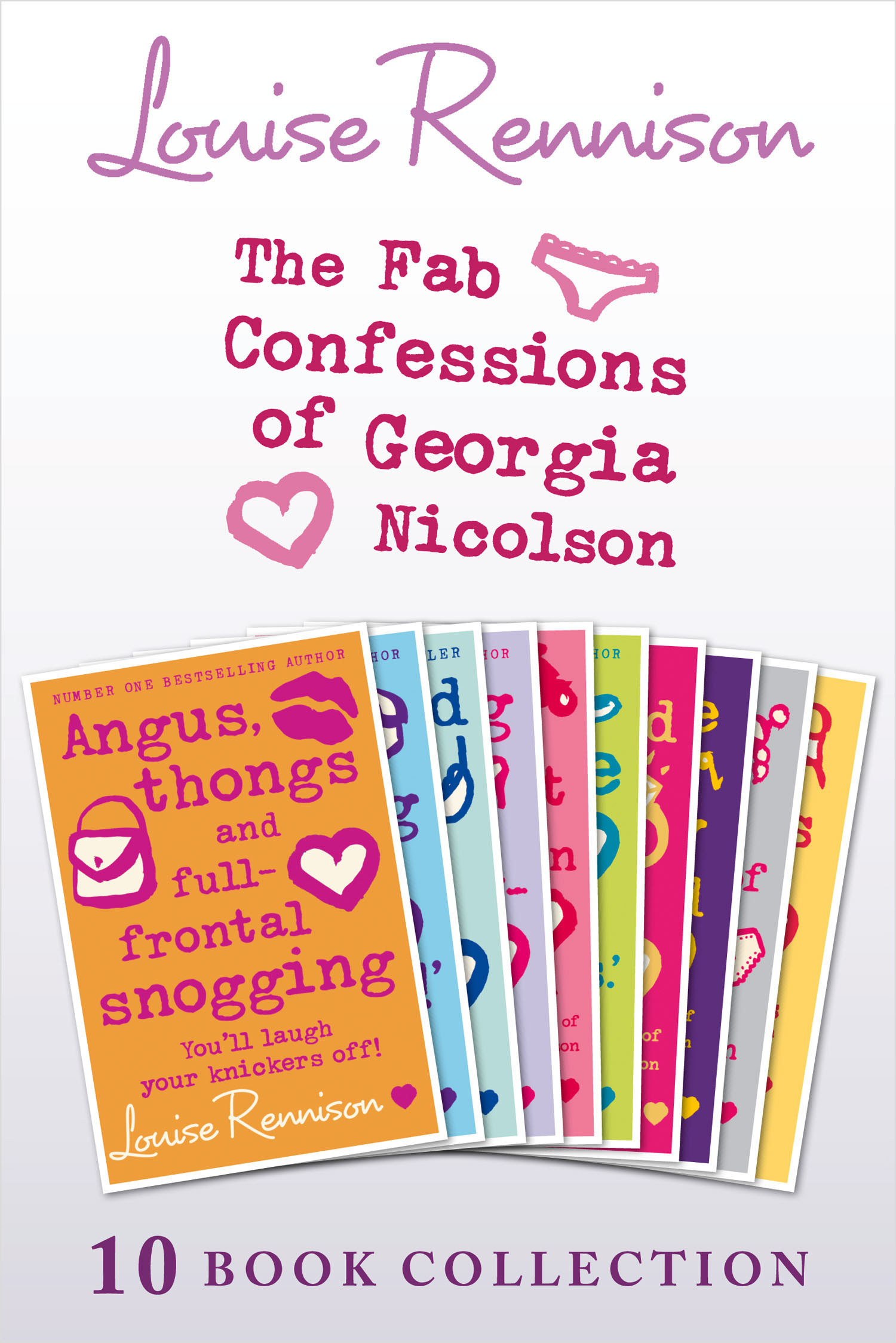 The Complete Fab Confessions of Georgia Nicolson: Books 1-10