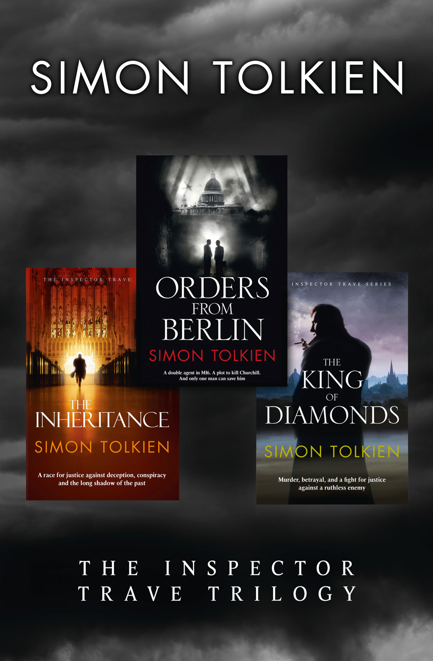 Simon Tolkien Inspector Trave Trilogy