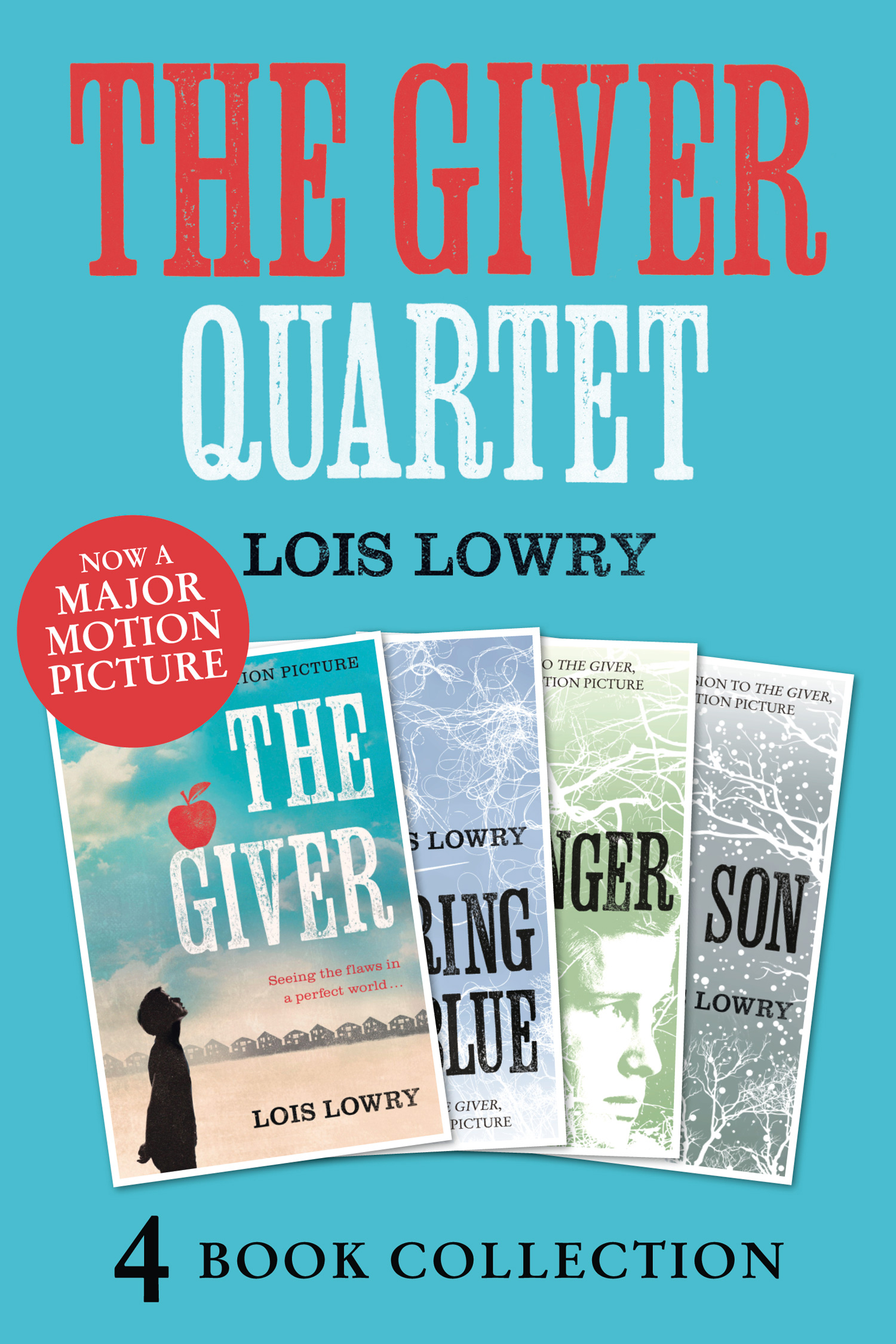 The Giver, Gathering Blue, Messenger, Son