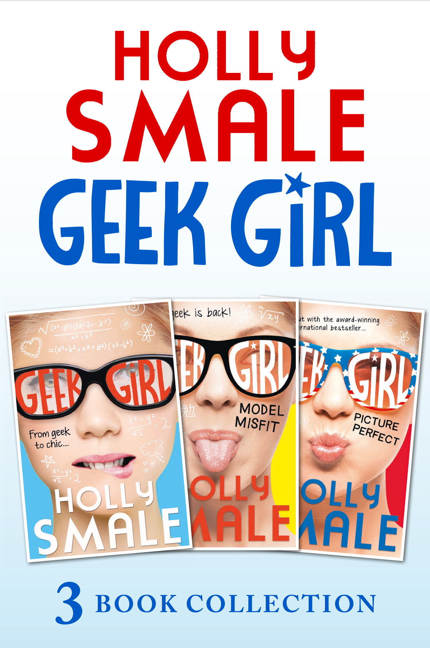 Geek Girl books 1-3