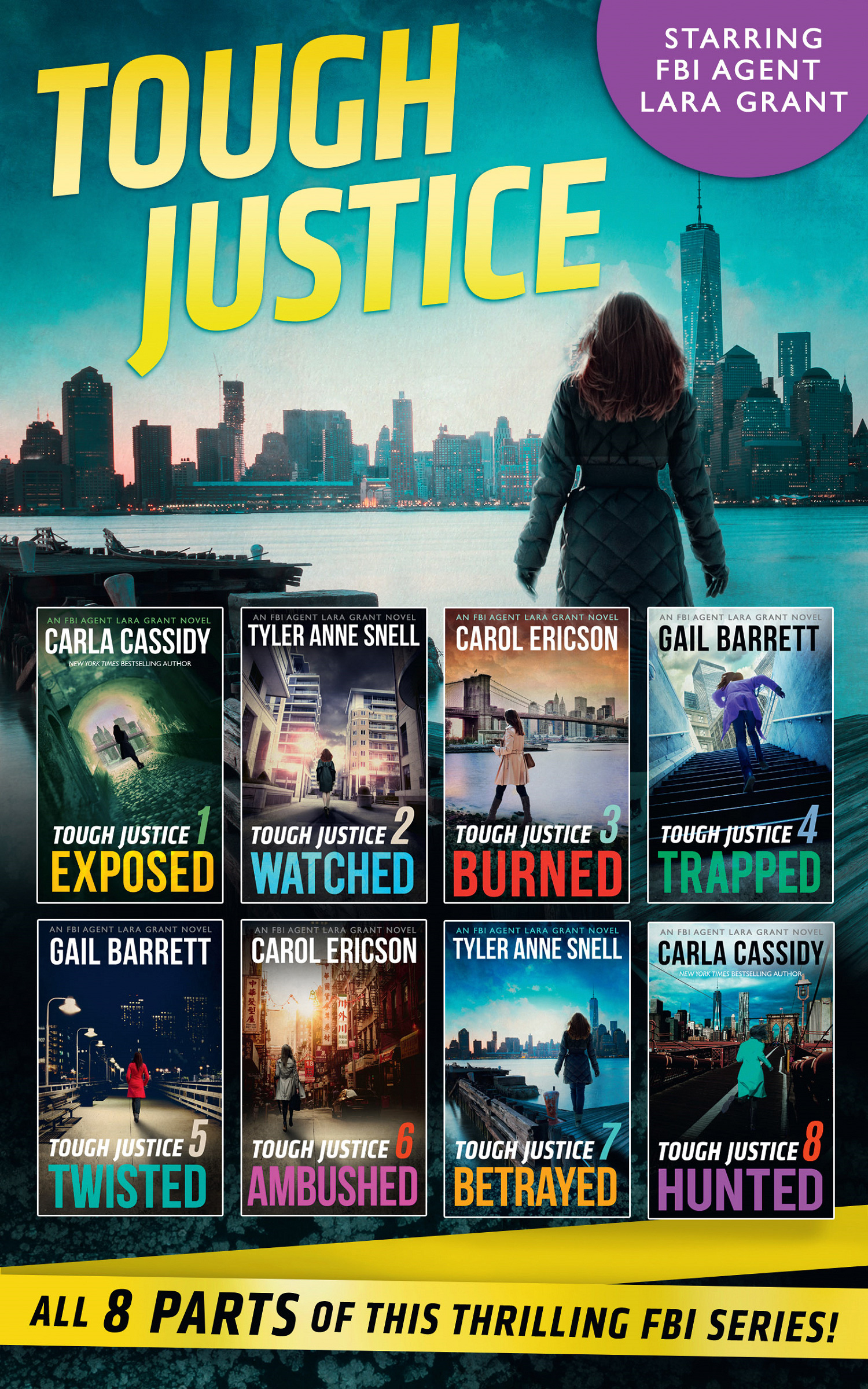 Tough Justice Series Box Set: Parts 1-8