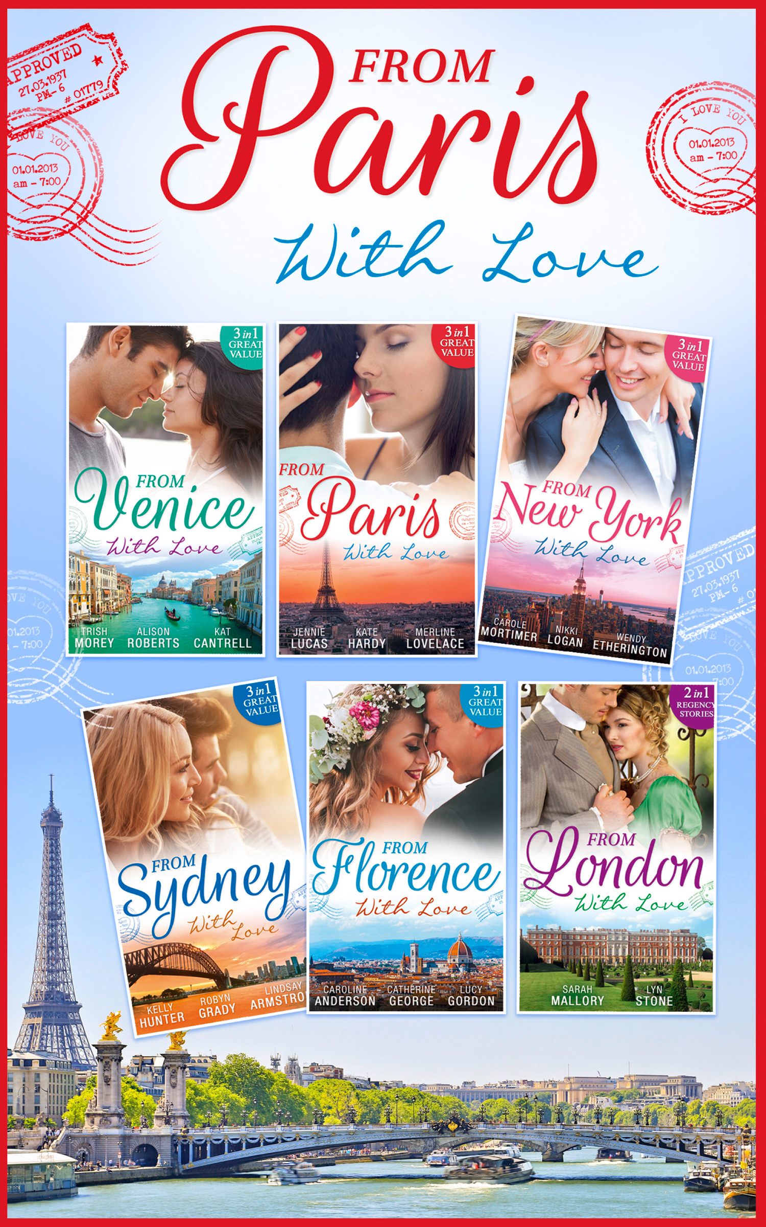 From Paris With Love Collection