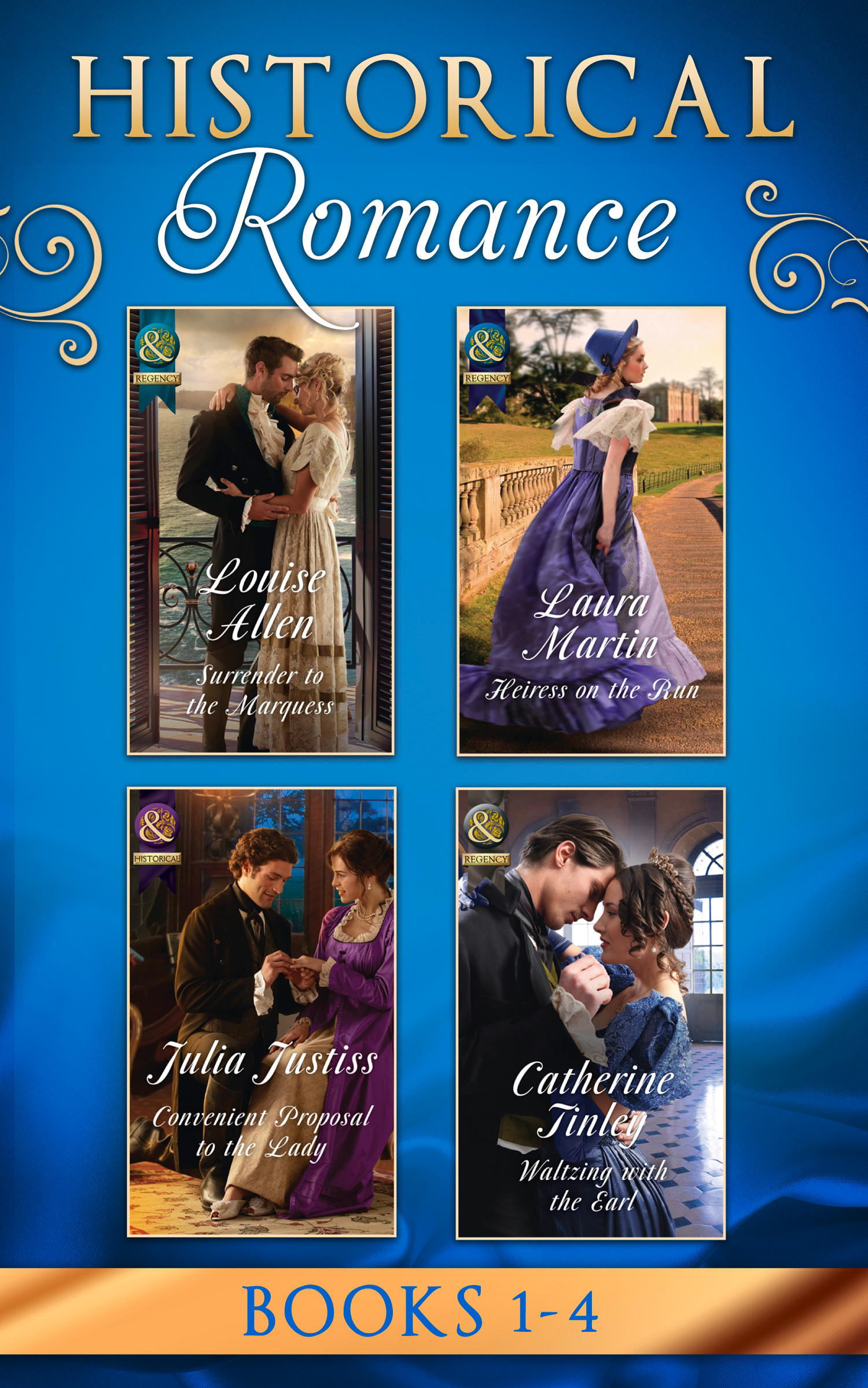 Historical Romance March 2017 Book 1-4