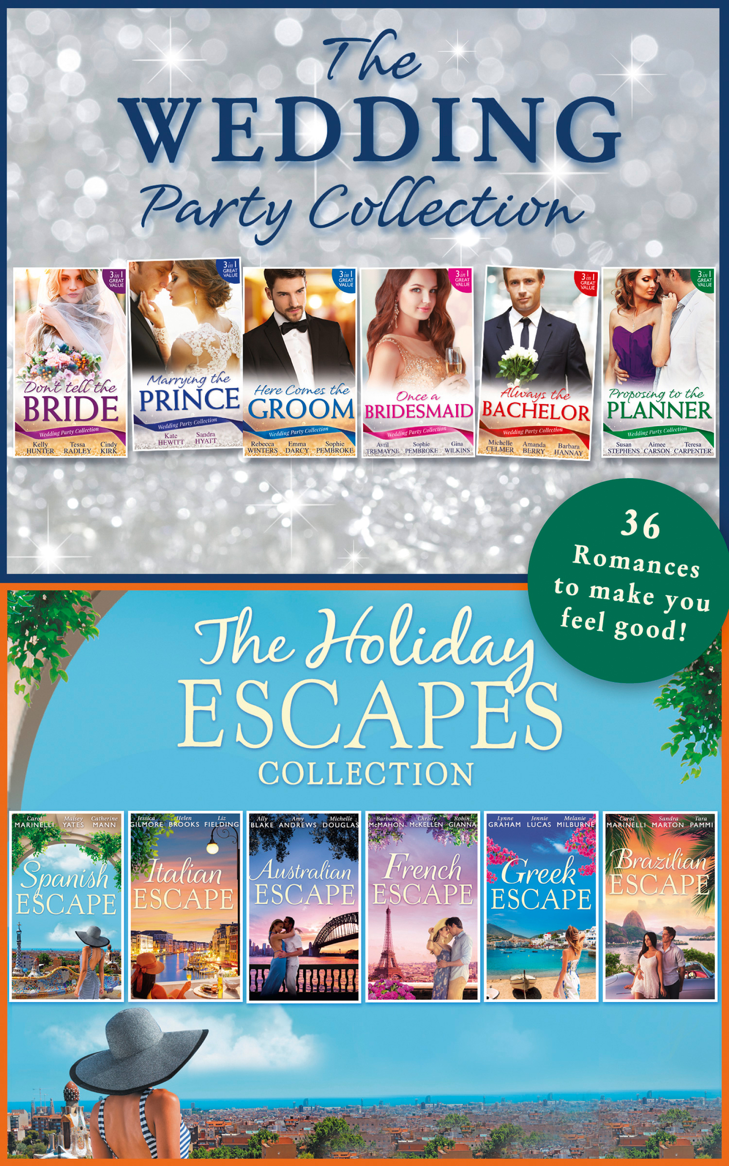 The Wedding Party And Holiday Escapes Ultimate Collection