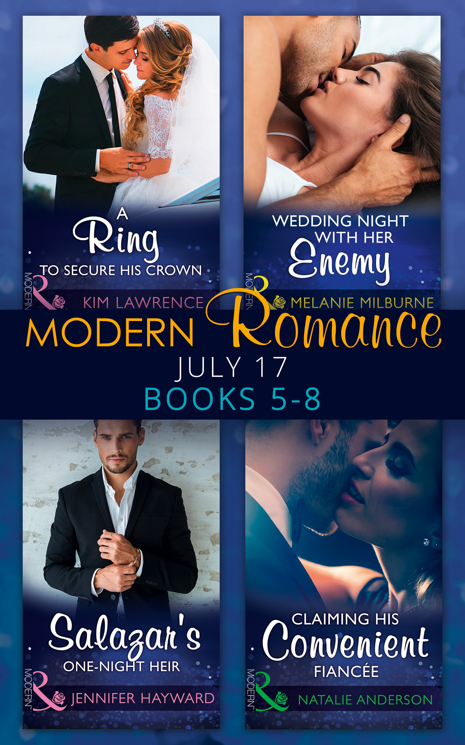 Modern Romance Collection: July Books 5 - 8
