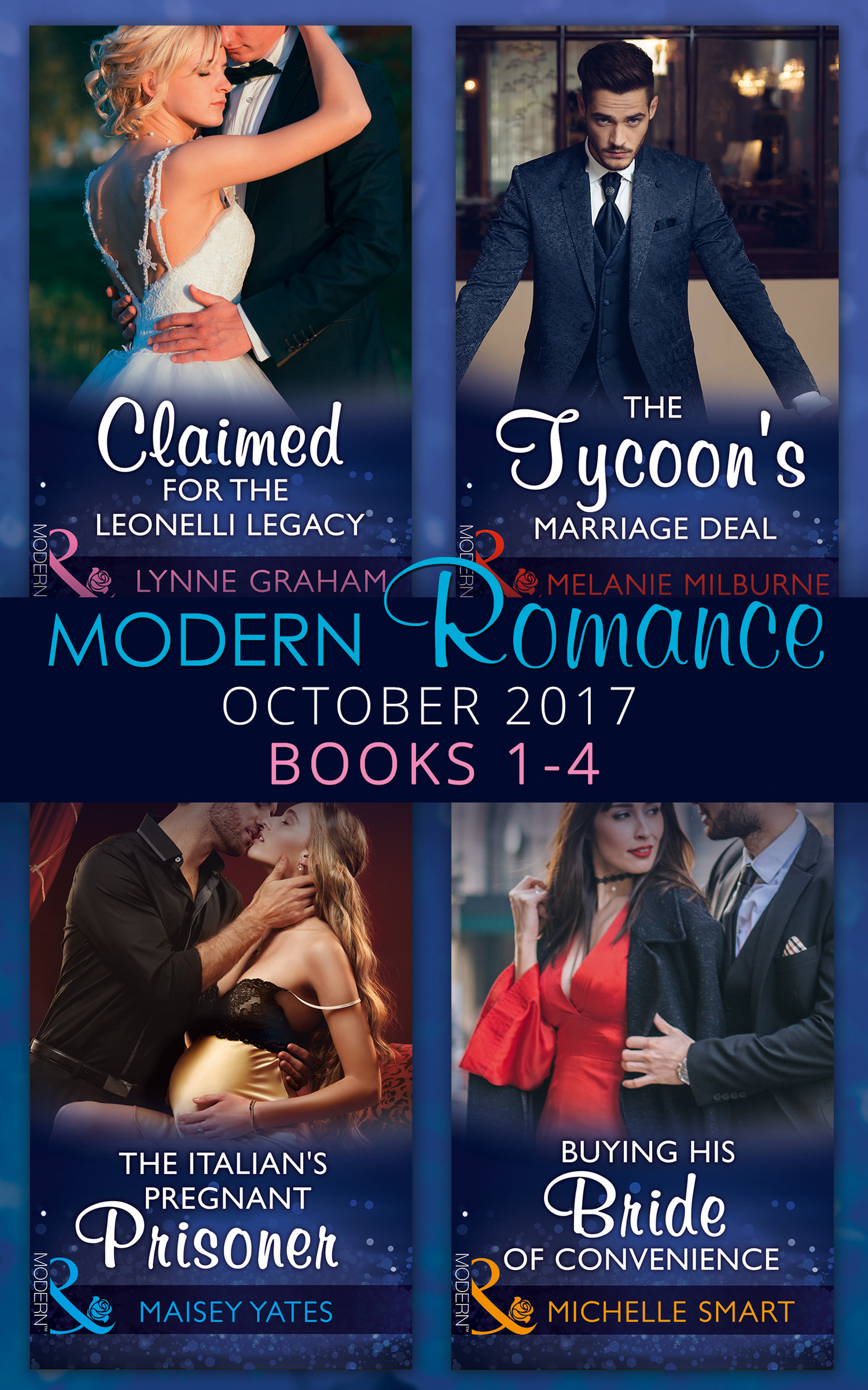 Modern Romance Collection: October 2017 Books 1 - 4