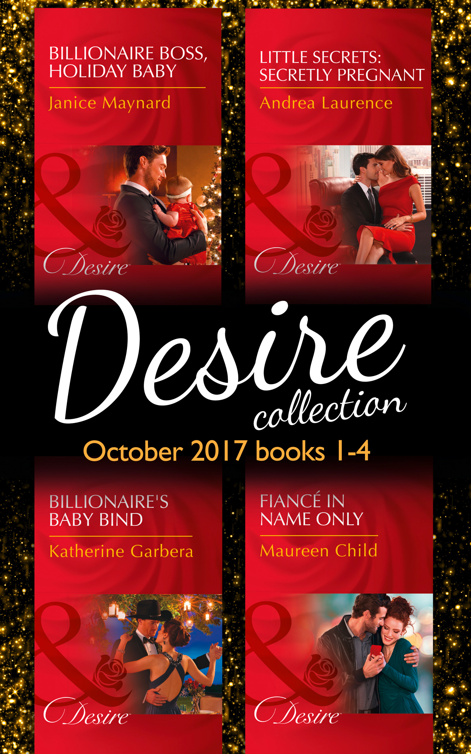 Desire Collection: October 2017 Books 1 - 4
