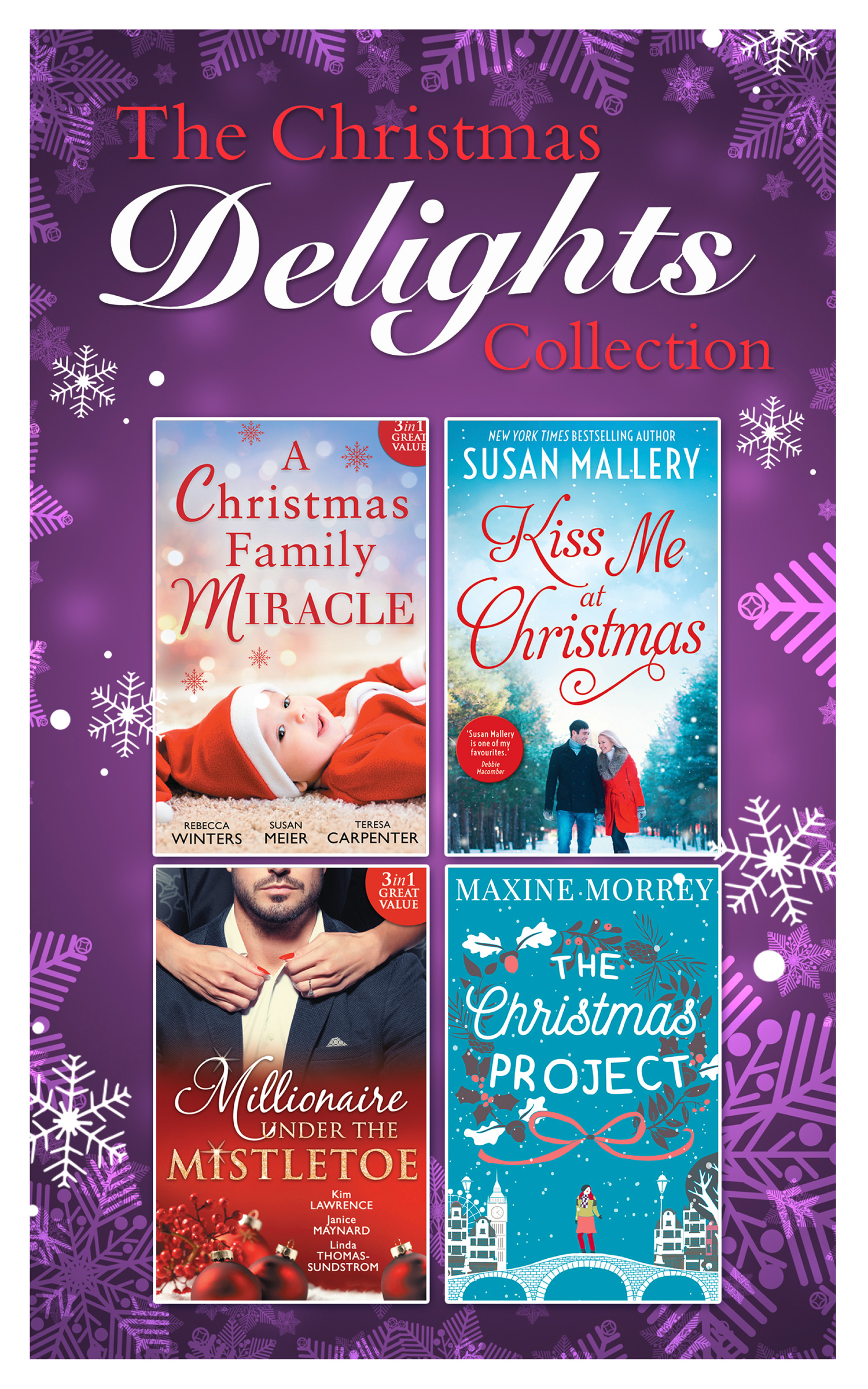 Mills and Boon Christmas Delights Collection