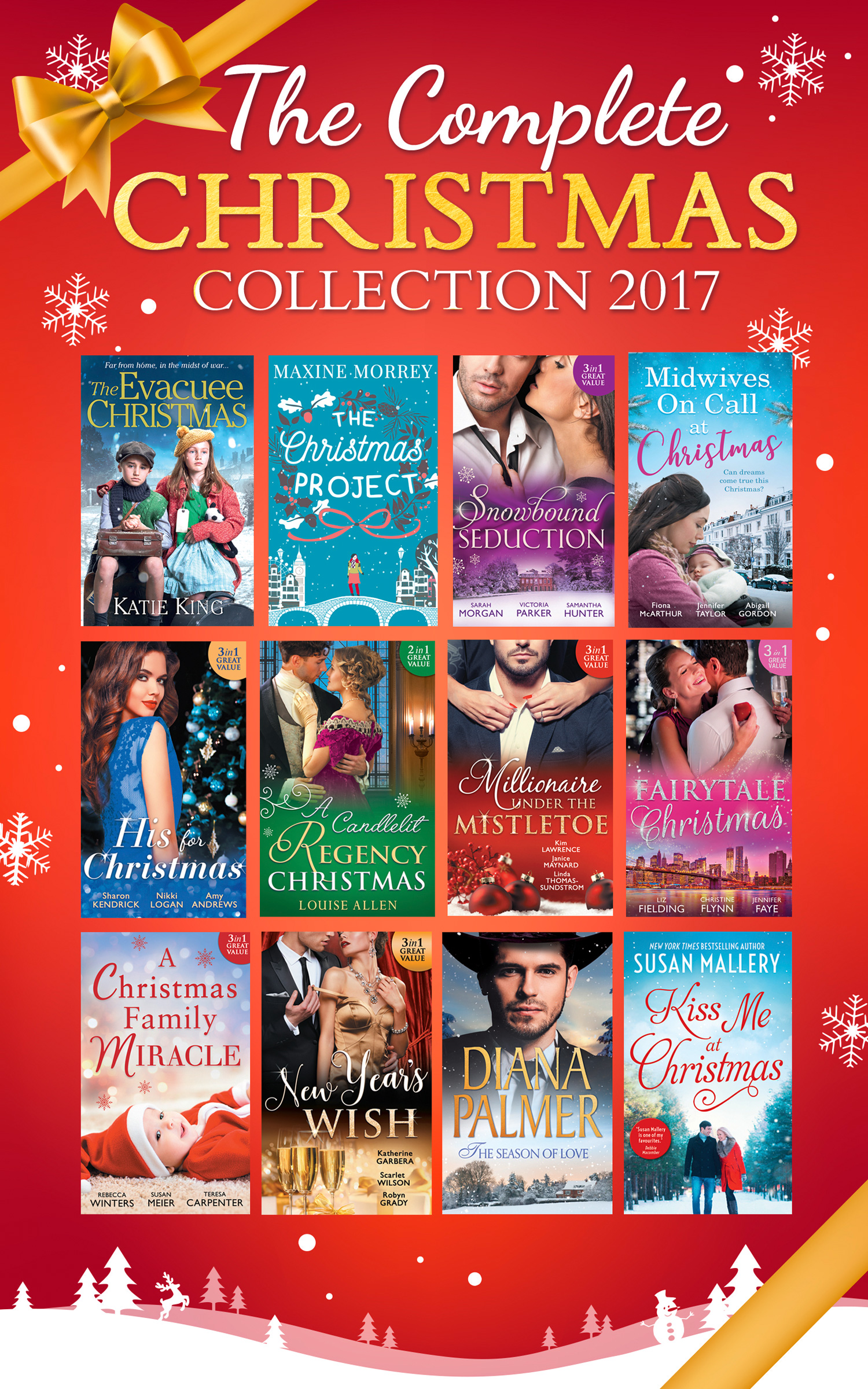 Mills & Boon Complete Christmas Collection 2017