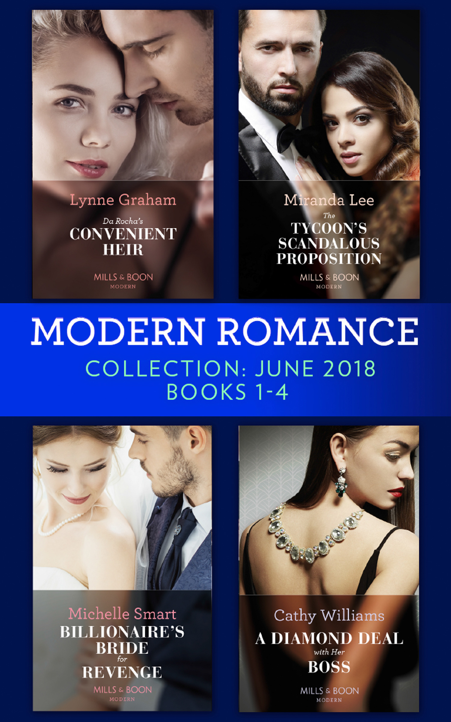 Modern Romance Collection: June 2018 Books 1 - 4
