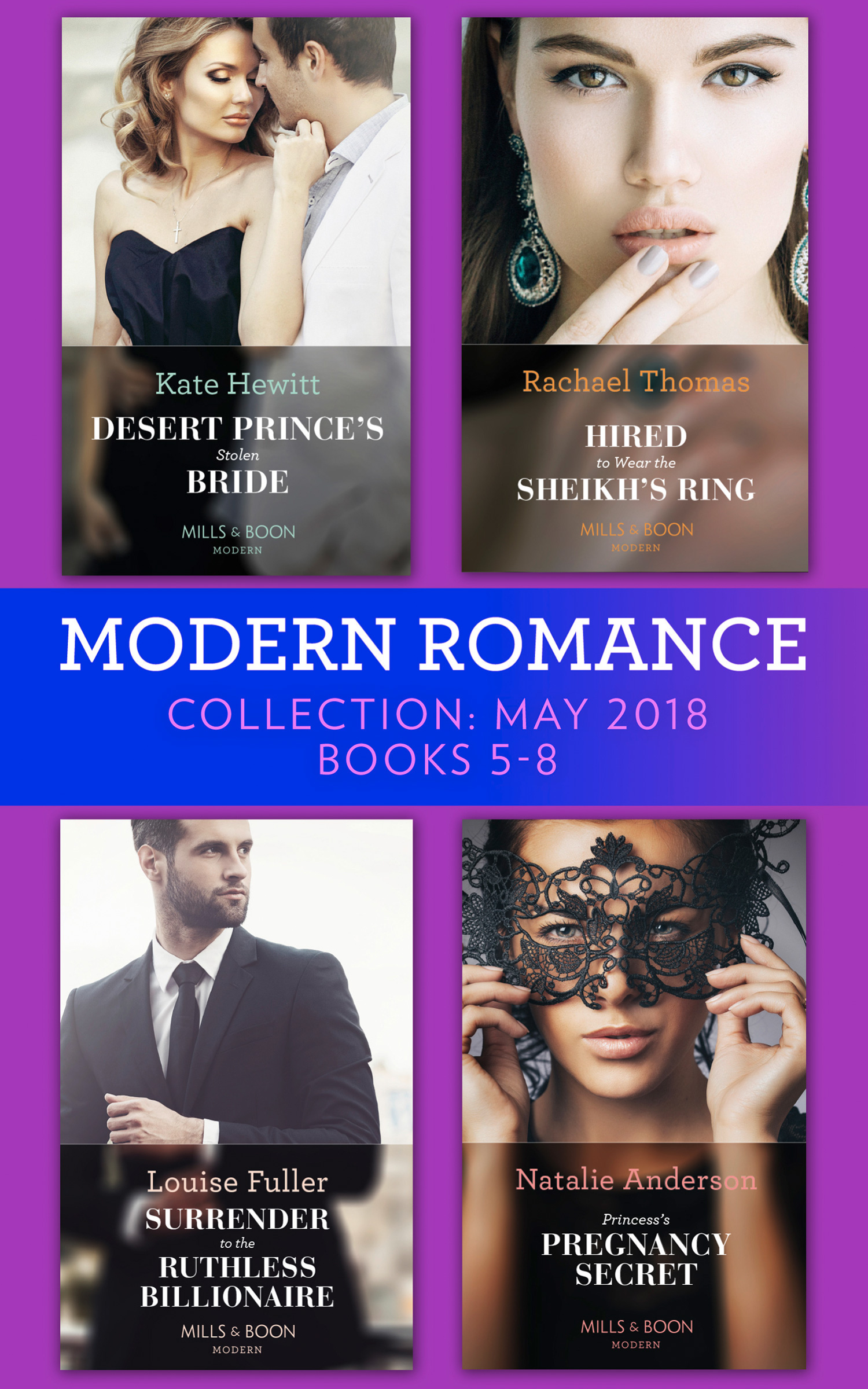 Modern Romance Collection: May 2018 Books 5 - 8