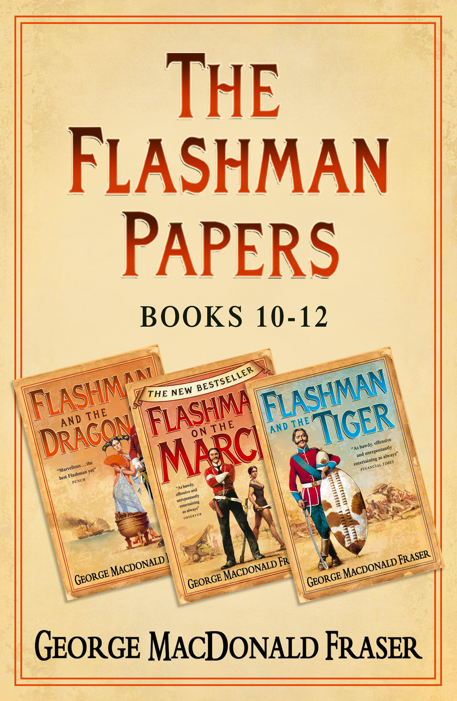 Flashman Papers 3-Book Collection 4