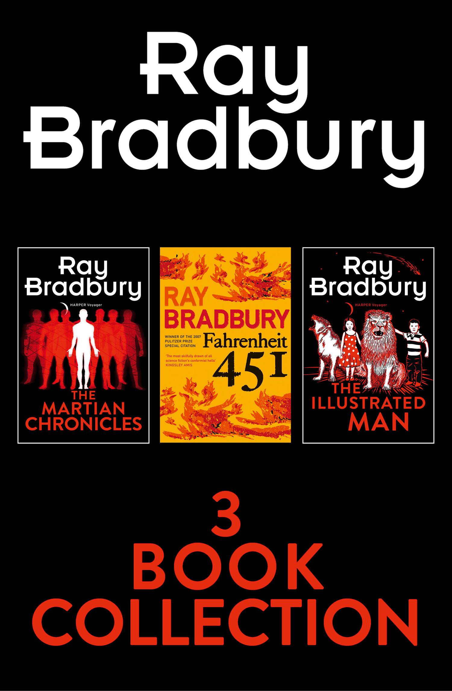 Ray Bradbury 3-Book Collection