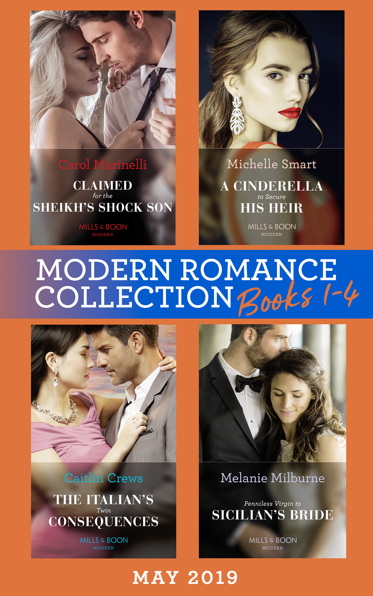 Modern Romance May 2019: Books 1-4