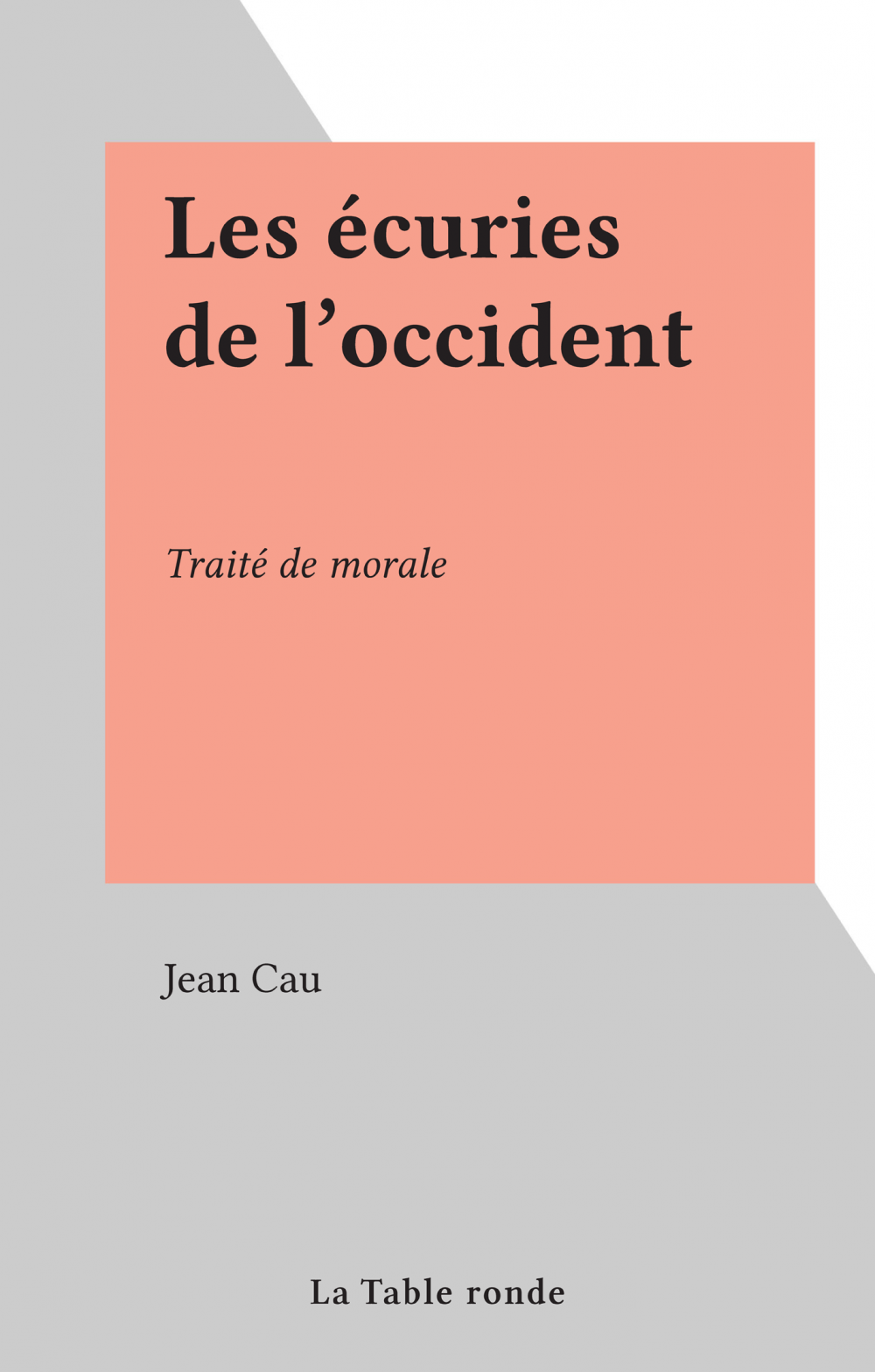 Les écuries de l'occident