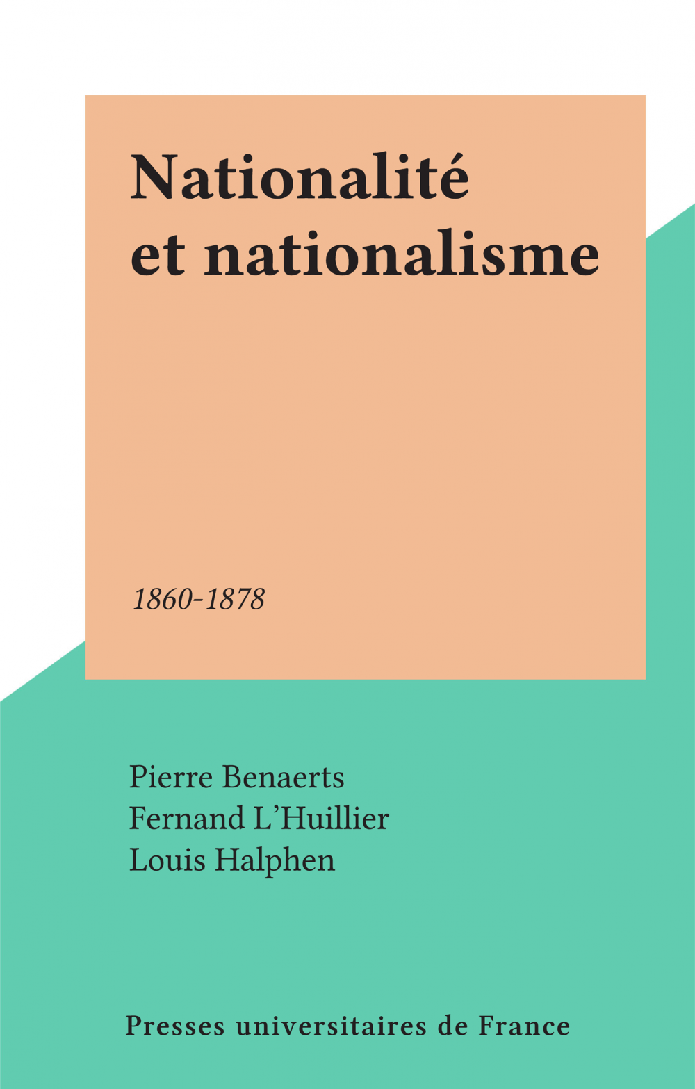 Nationalité et nationalisme