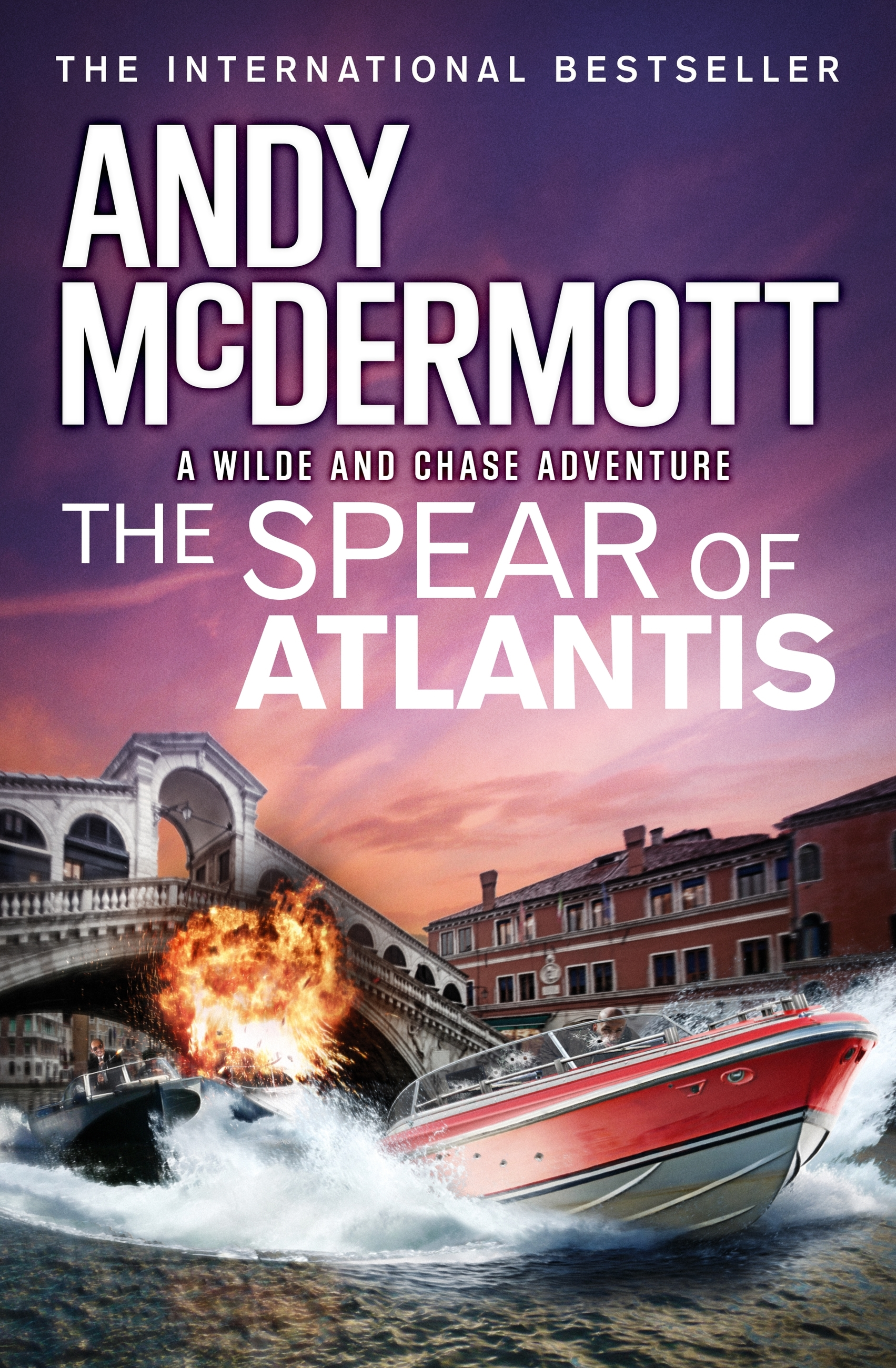 The Spear of Atlantis (Wilde/Chase 14)