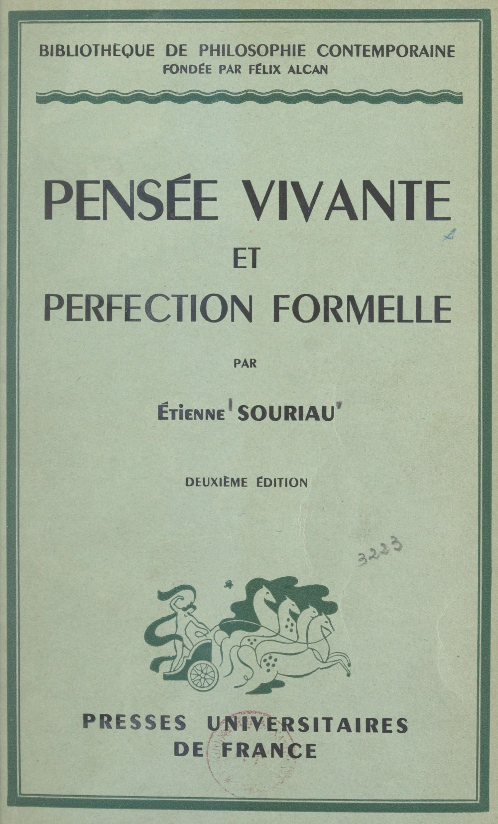 Pensée vivante et perfection formelle
