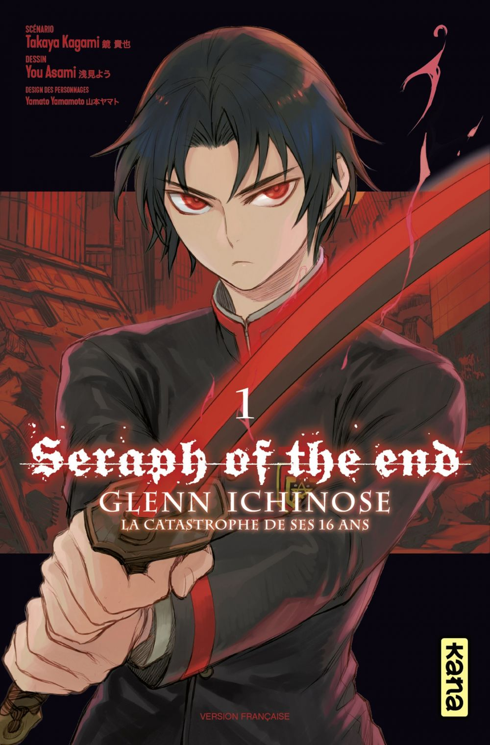 Seraph of the End - Glenn Ichinose - Tome 1