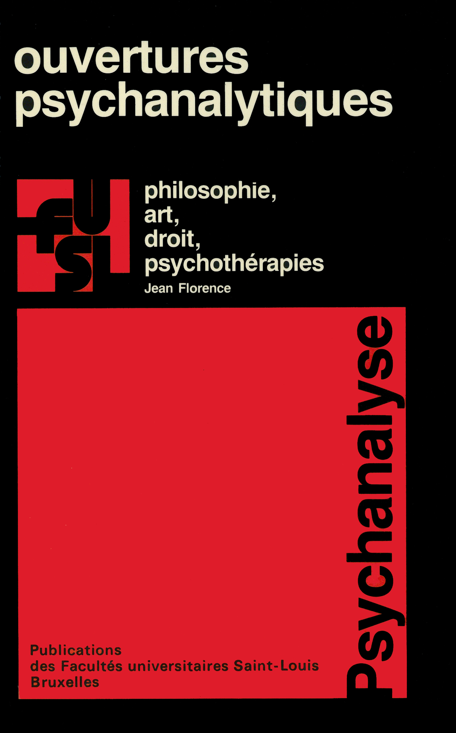 Ouvertures psychanalytiques