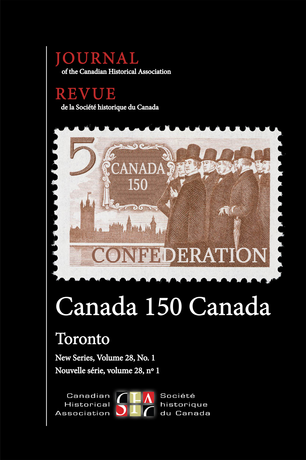Journal of the Canadian Historical Association. Vol. 28 No. 1,  2017